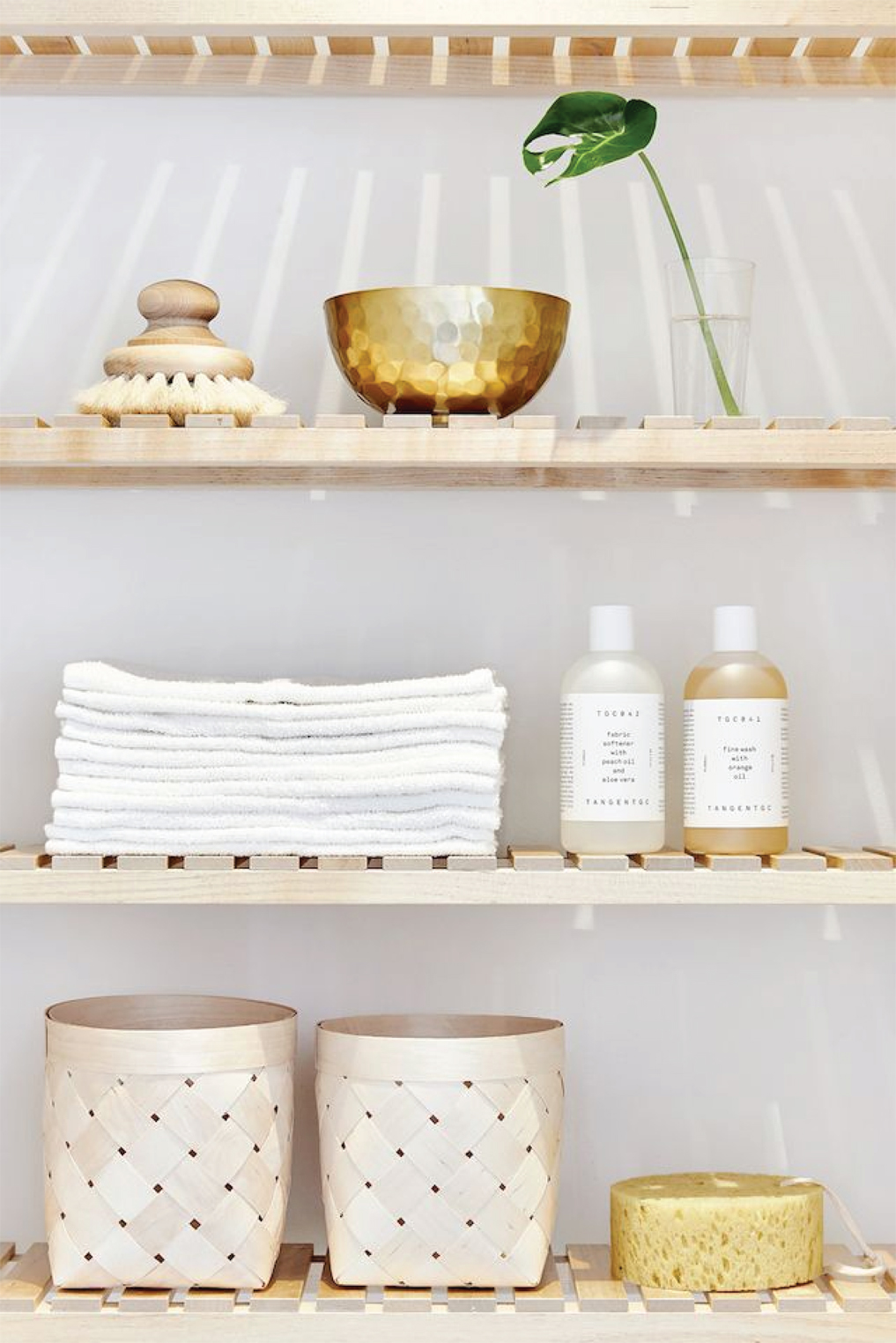 Simple Shelf Styling and Organization | Akin Design Studio
