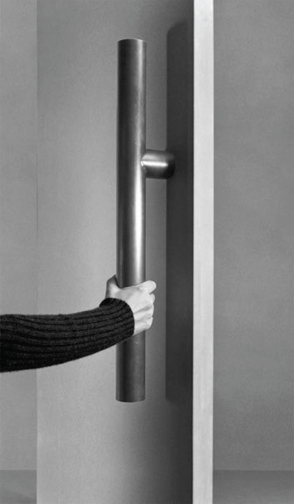 Currently Loving: Over-sized Hardware - Large Door pull by Tom Kundig