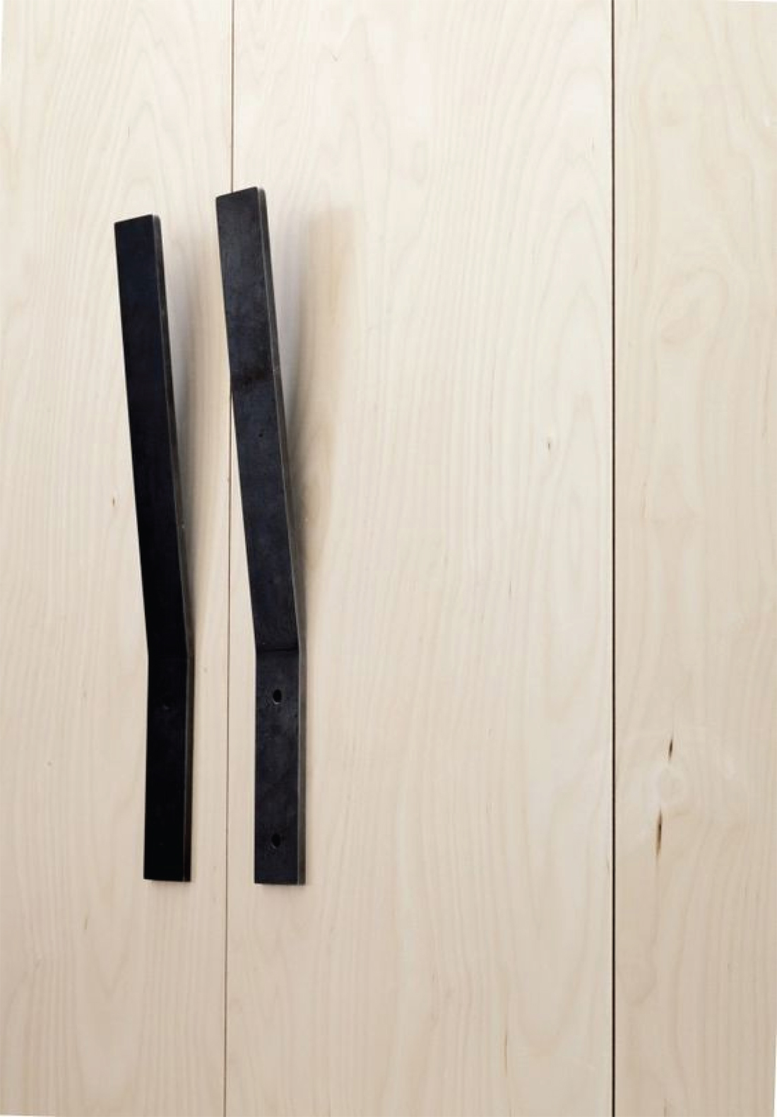 Currently Loving: Over-sized Hardware - Cabinet Pulls by Tom Kundig