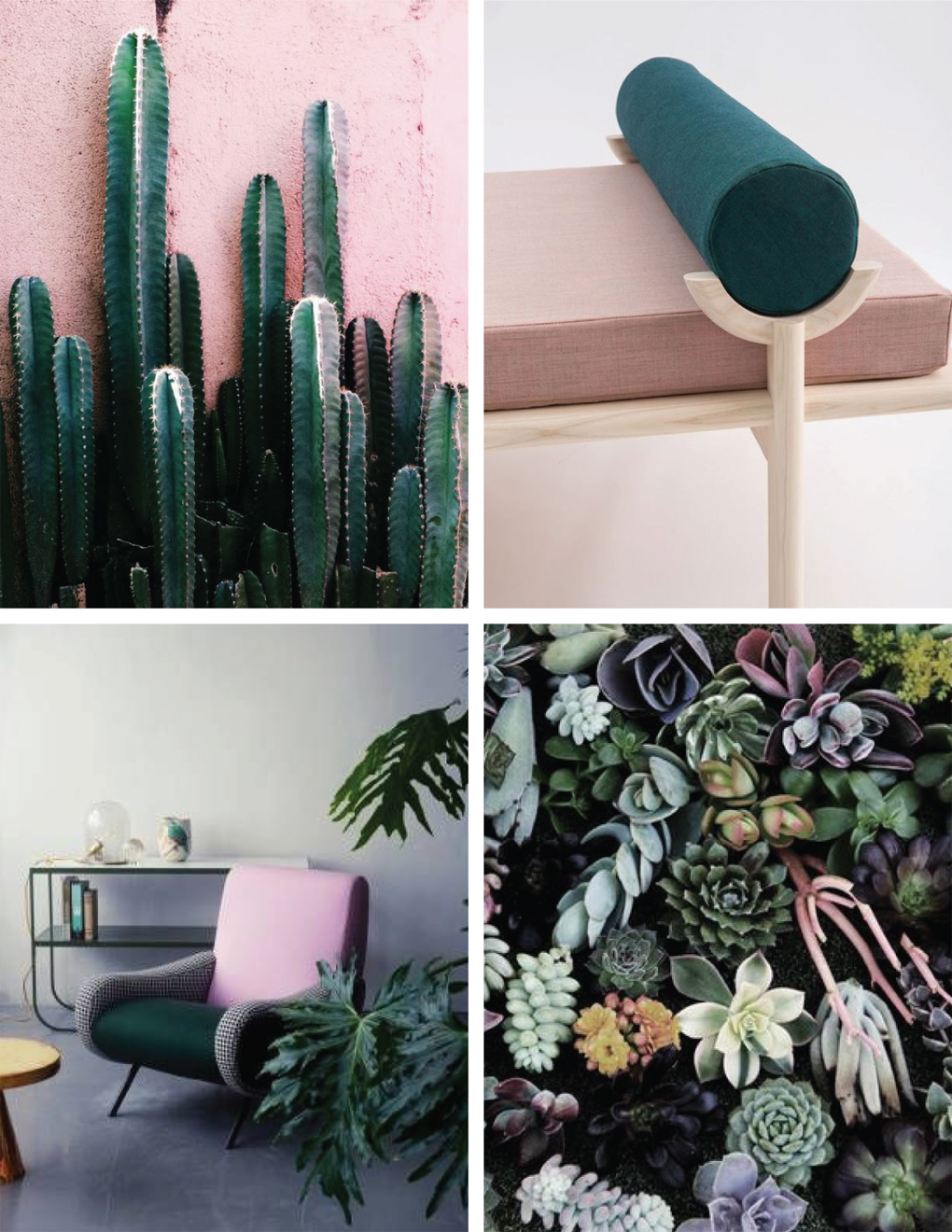 Spring Pink & Green Vibe