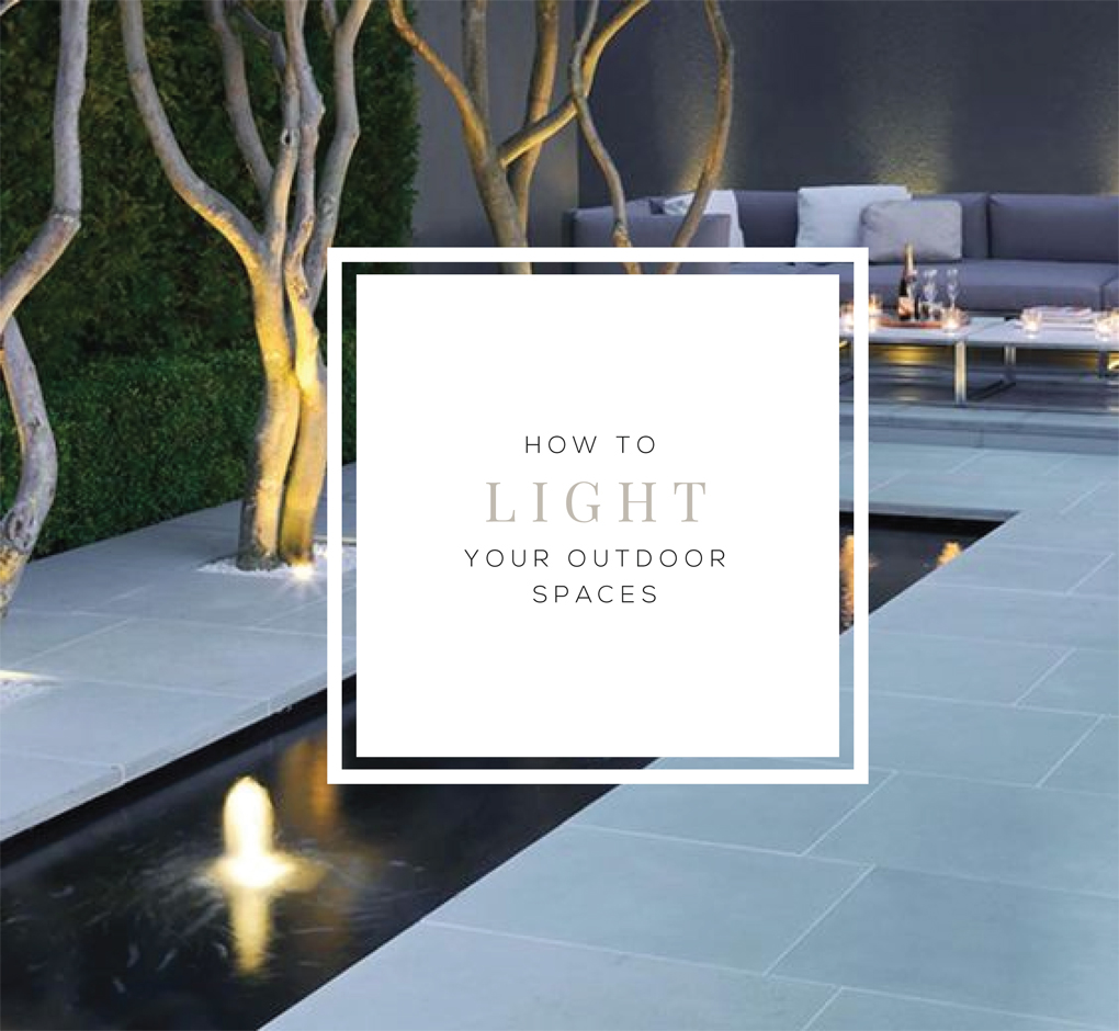 How to Light Your Outdoor Spaces  | Akin Design Studio Blog