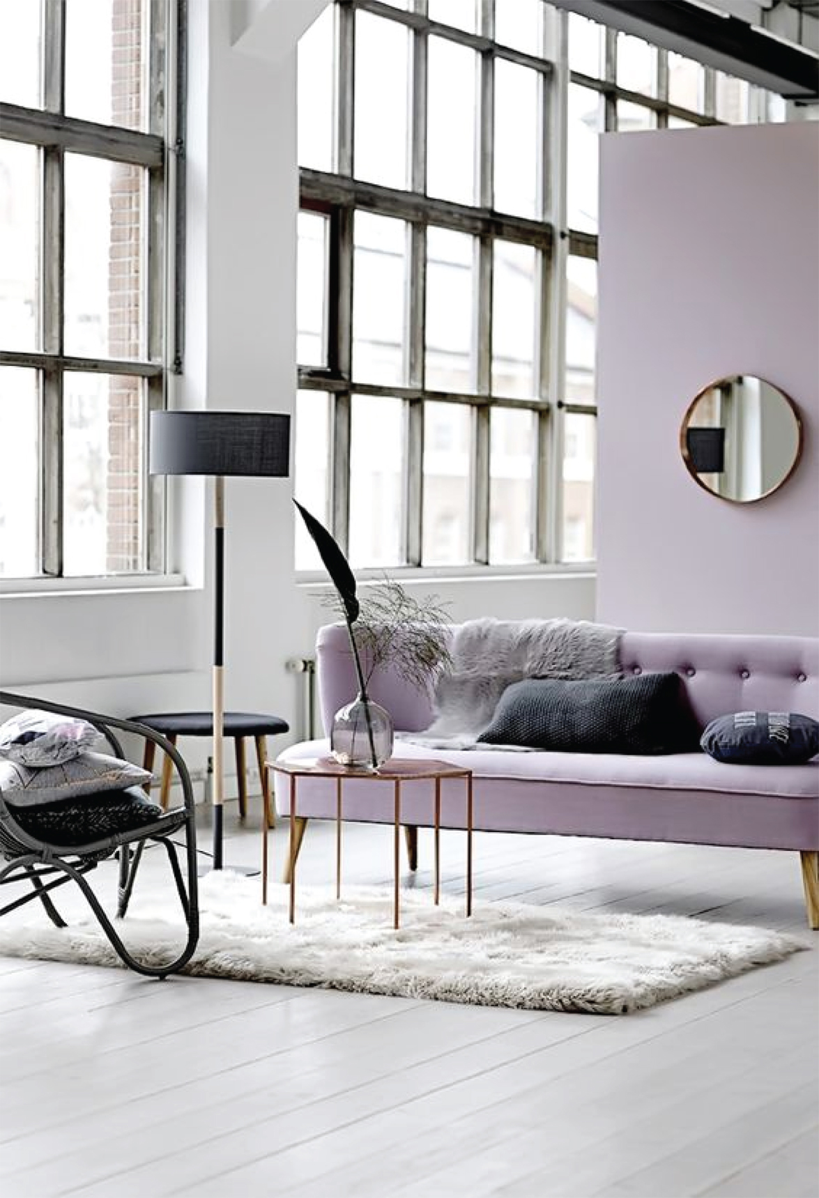 Lilac Interior Inspiration | Akin Design Studio Blog