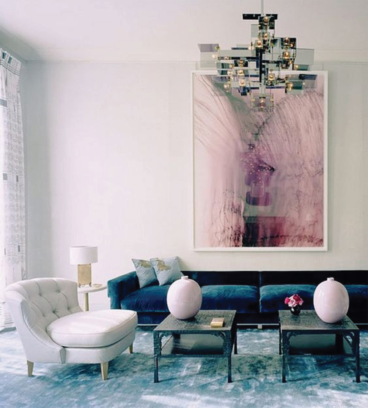 Lilac Living Room Inspiration | Akin Design Studio Blog