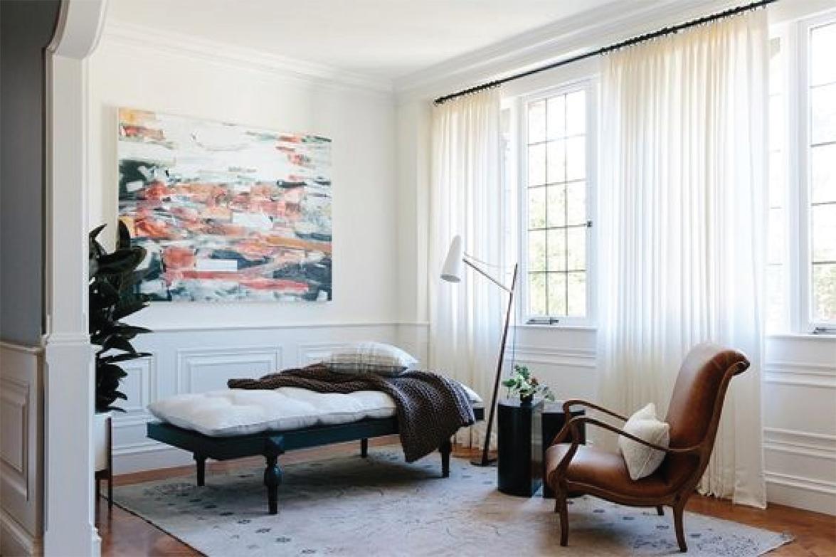 How to hang curtains | Drapery panel length | Akin Design Studio
