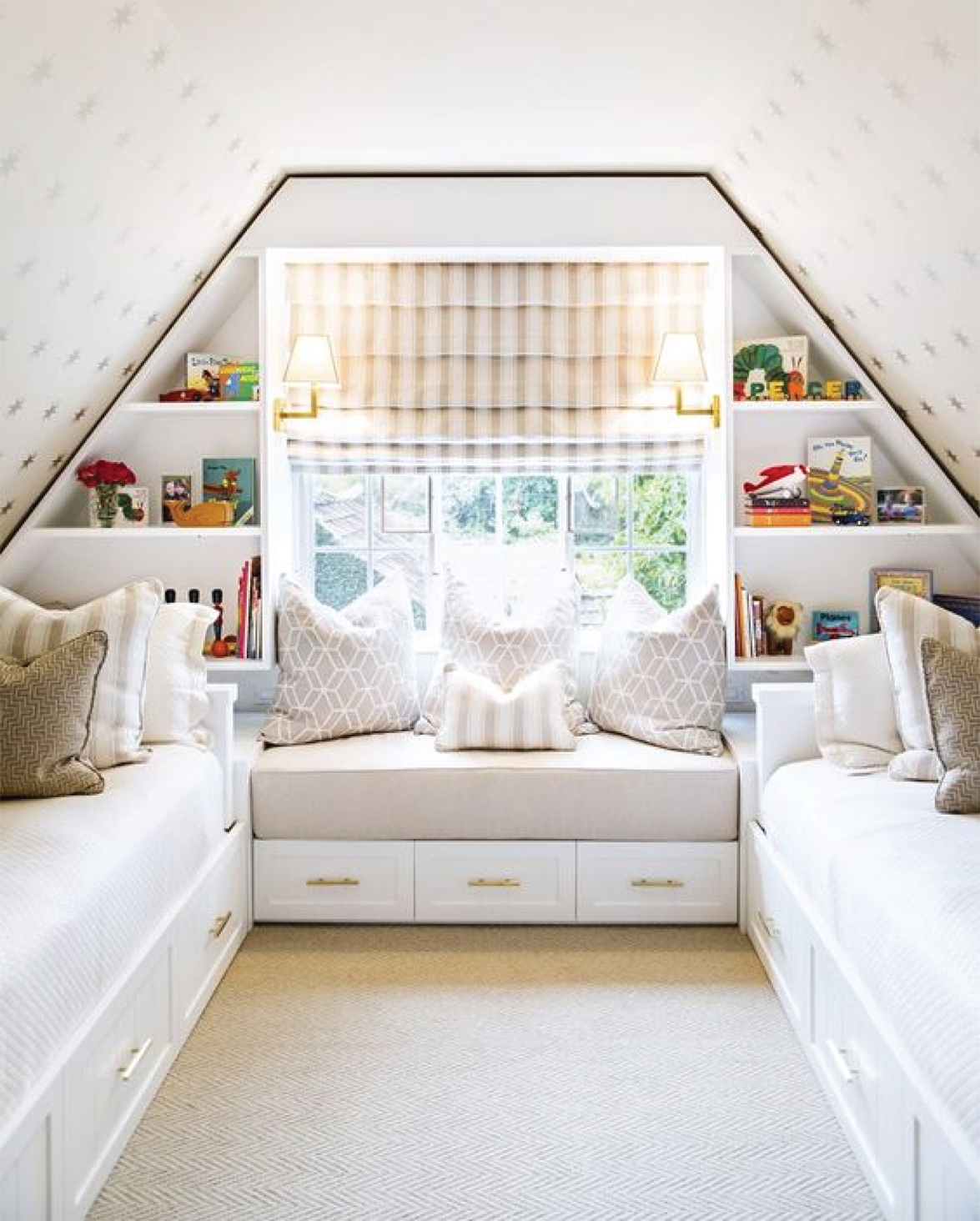 How to Style a Kid's Bedroom   Styling with books   Akin Design Studio Blog