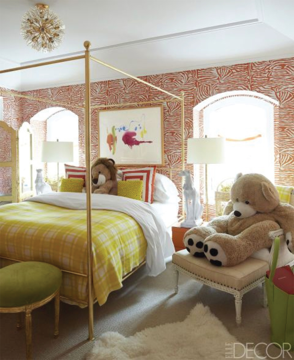 How to Style a Kid's Bedroom | Stuffed Animals | Akin Design Studio Blog