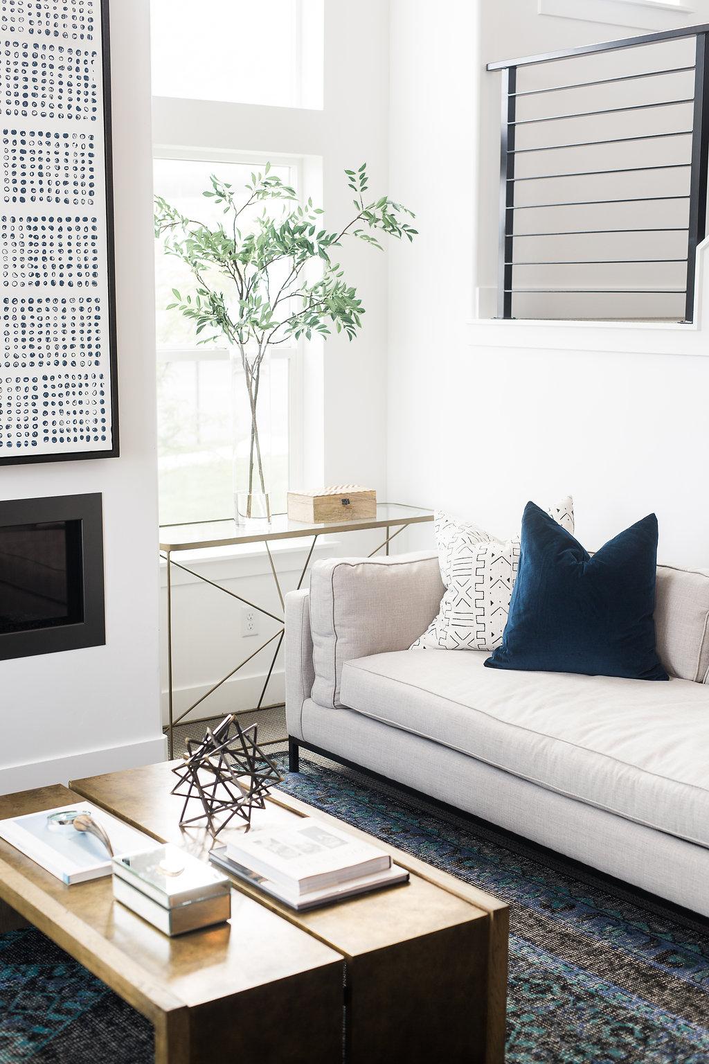 Akin Design Studio | Iron Horse Family Room - Fresh, collected, modern design