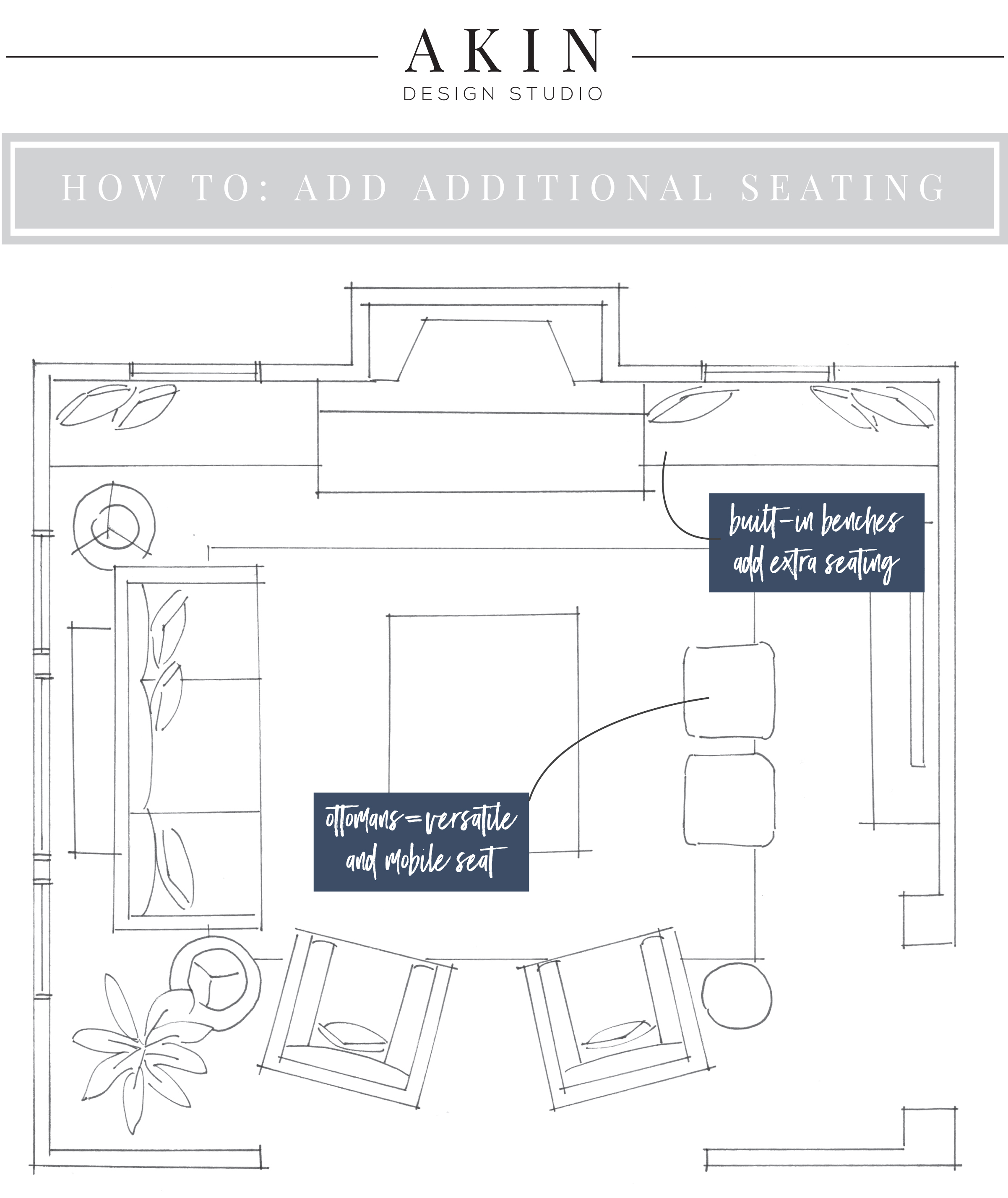Akin Design Studio Blog | Built-In Seating