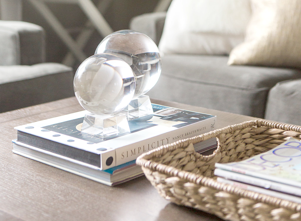 Transitional Living Room Styling | Akin Design Studio