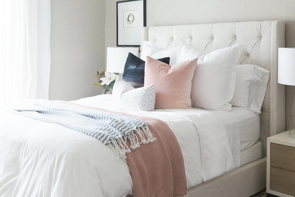 Transitional Bedroom Design | Akin Design Studio