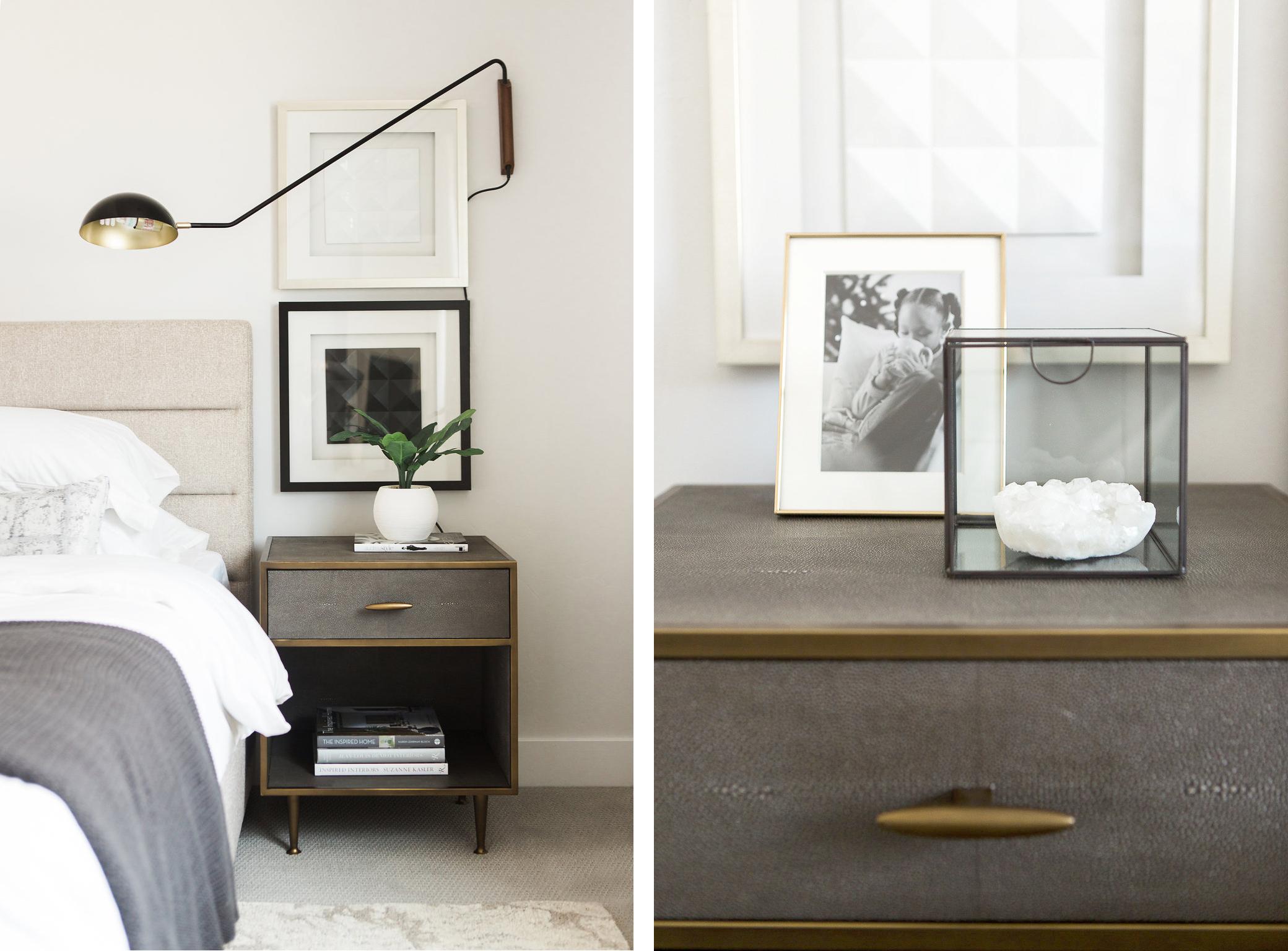 Minimal Modern Bedroom Design Details | Akin Design Studio