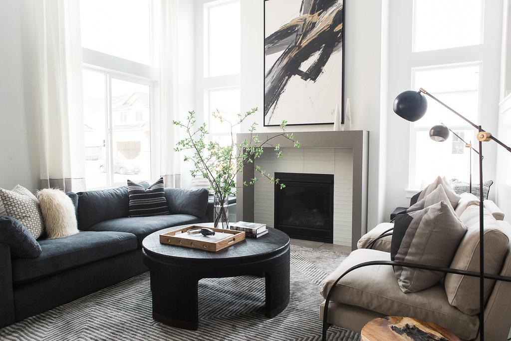 Modern Living Room Design | Akin Design Studio