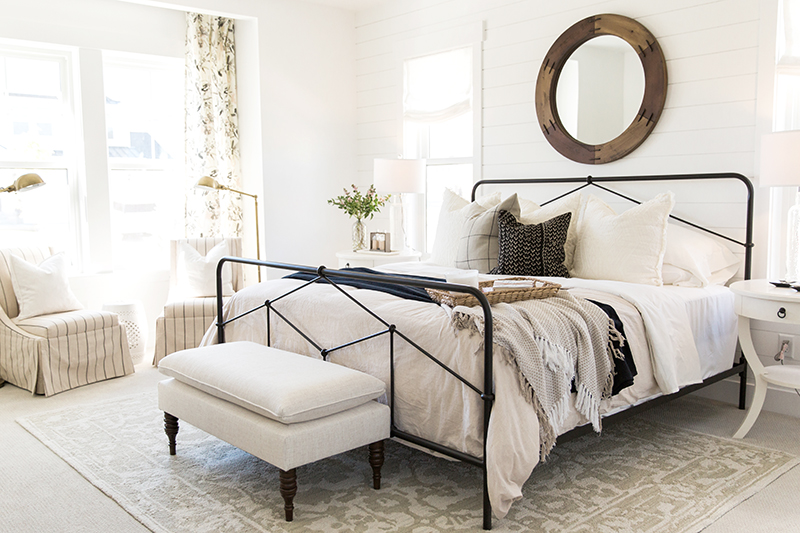 Light Bright Bedroom Design
