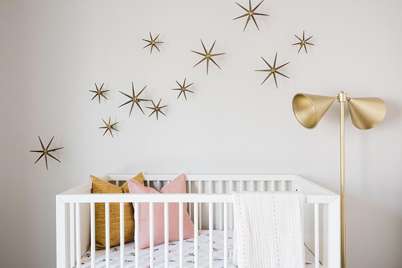 Girl's Nursery Design | Akin Design Studio
