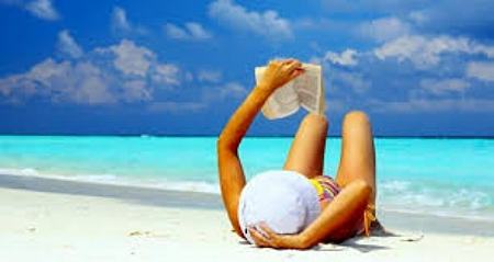 Packing for a dream holiday - don't forget a good read!