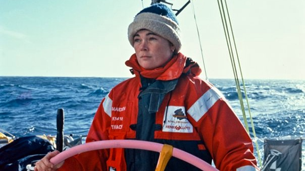Tracy Edwards skippered the first all-women crew in the Whitbread Round the World Race 1989 - 90