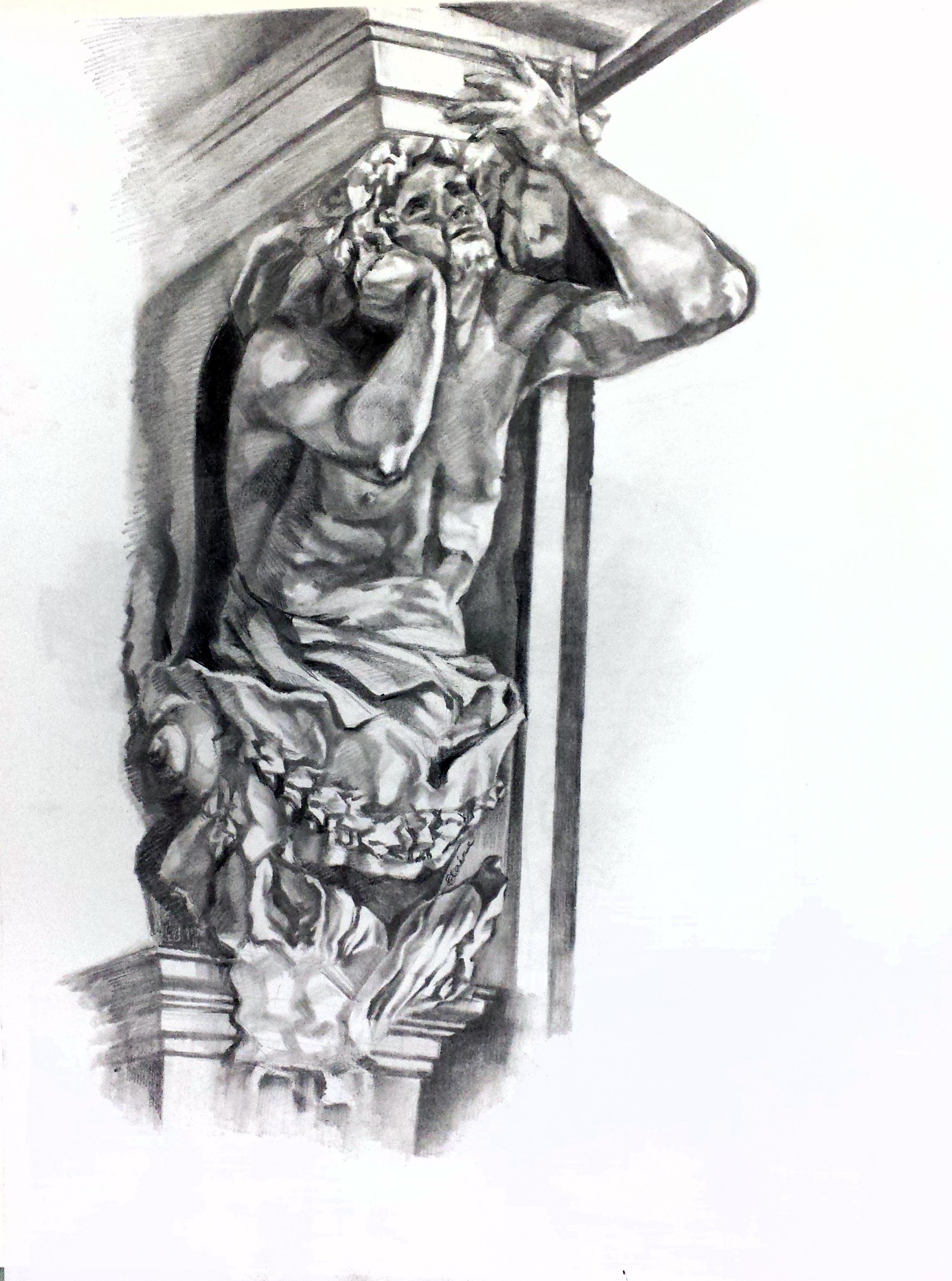 Statue in White