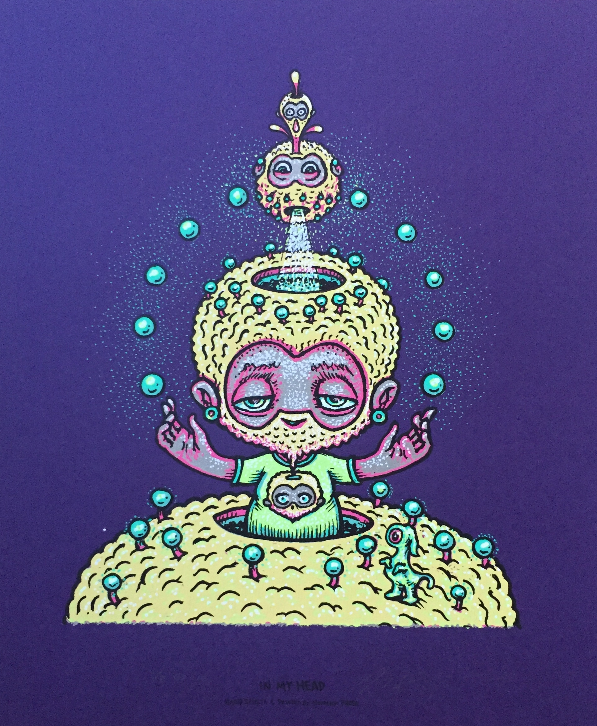 """Grape Variant In My Head 10"""" x 12"""" (edition of 8)"""
