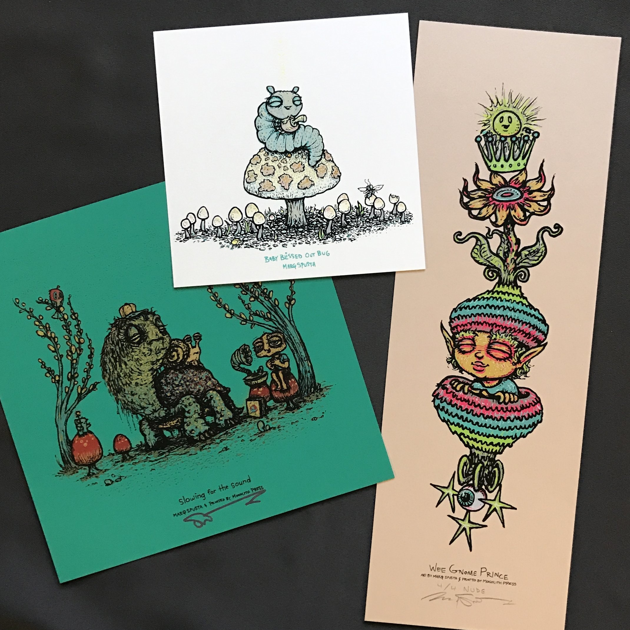 $175 #4 SFTS + Baby Bliss + Nude Wee Gnome Prince (edition of 4)