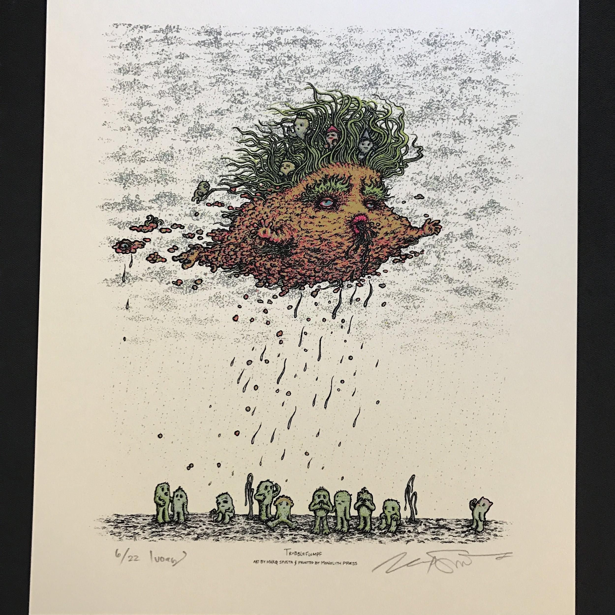 $175 #7 Ivory Trubbleflumpf (Edition of 22)
