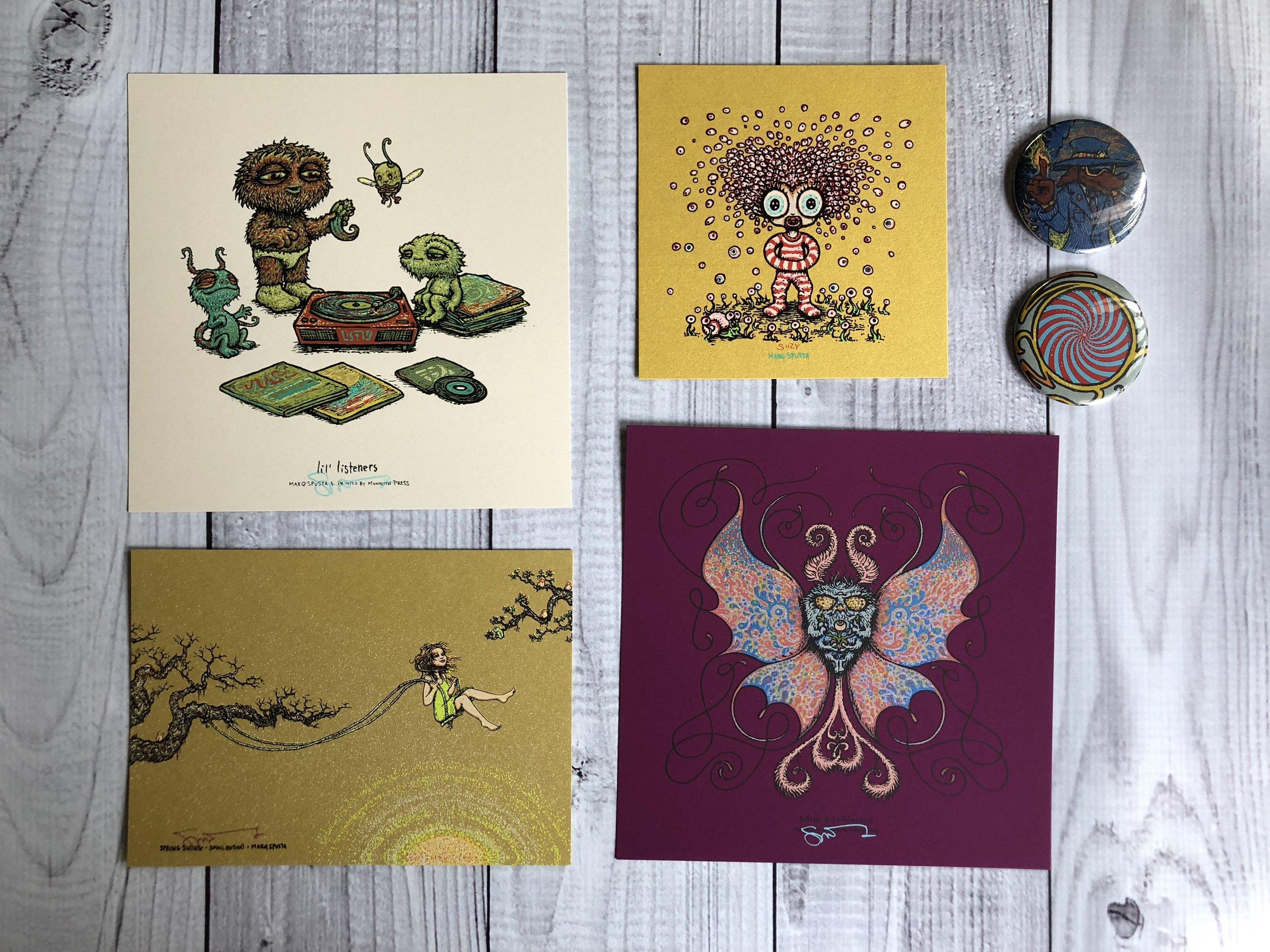 $300 Pack H: Lil Listeners, Mini Mothimus, Spring Swing, Suzy