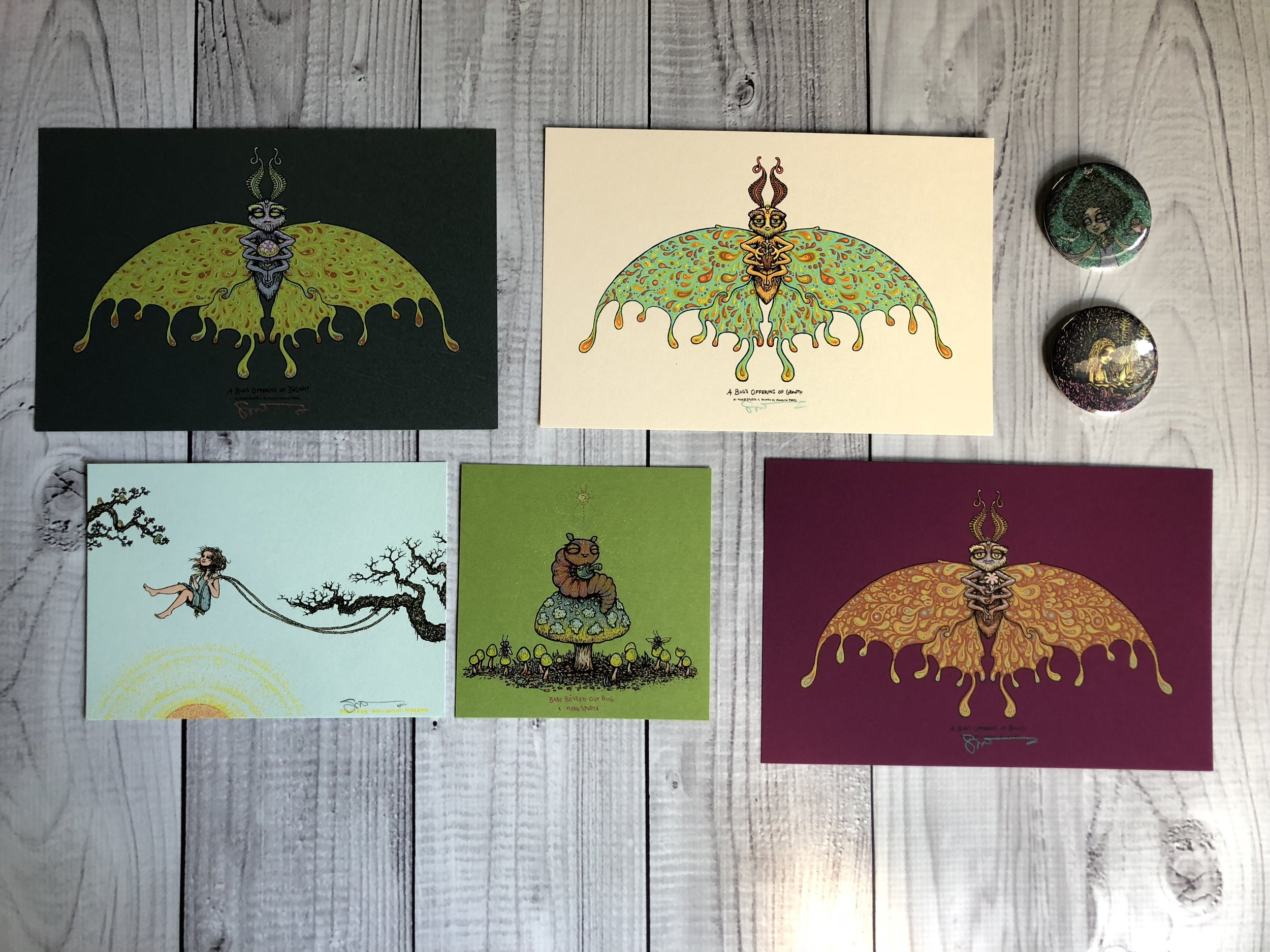 $250 Pack J: Spring Swing, Set of Bug's Offering, Baby Bliss Bug