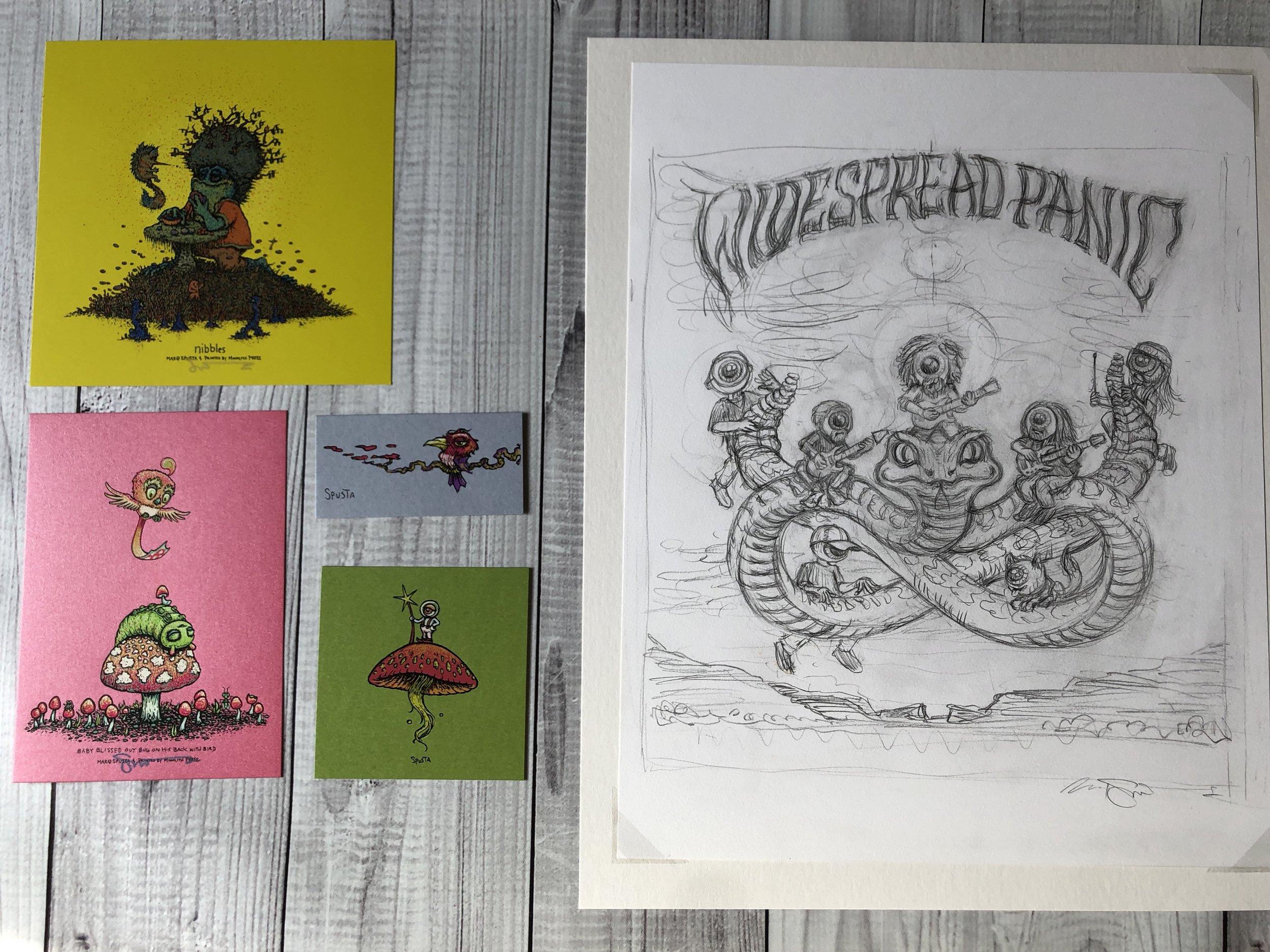 $460 Original WP Drawing + Mini Pack