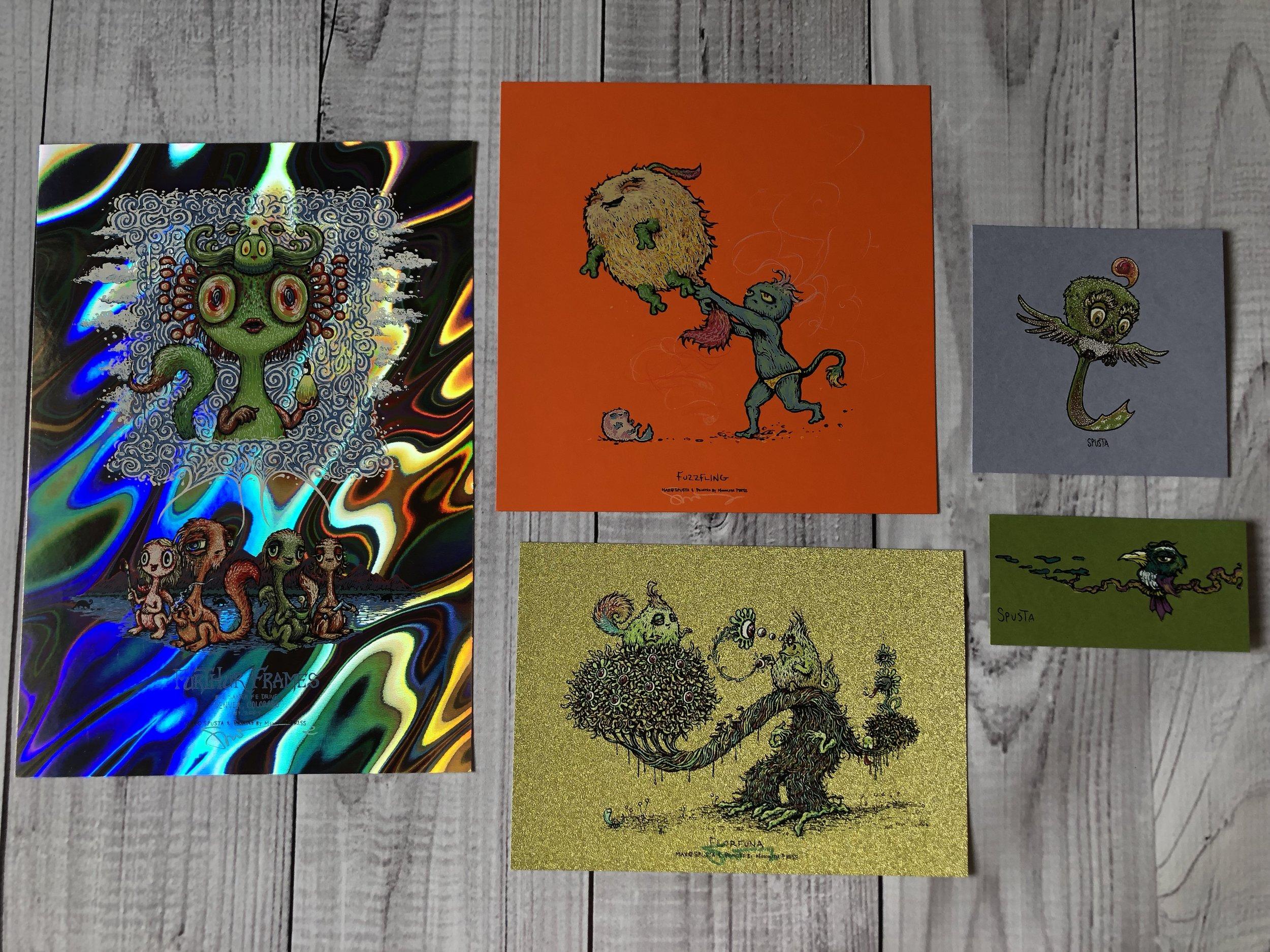 $125 Furthur Frames Lava Foil Handbill Pack 1