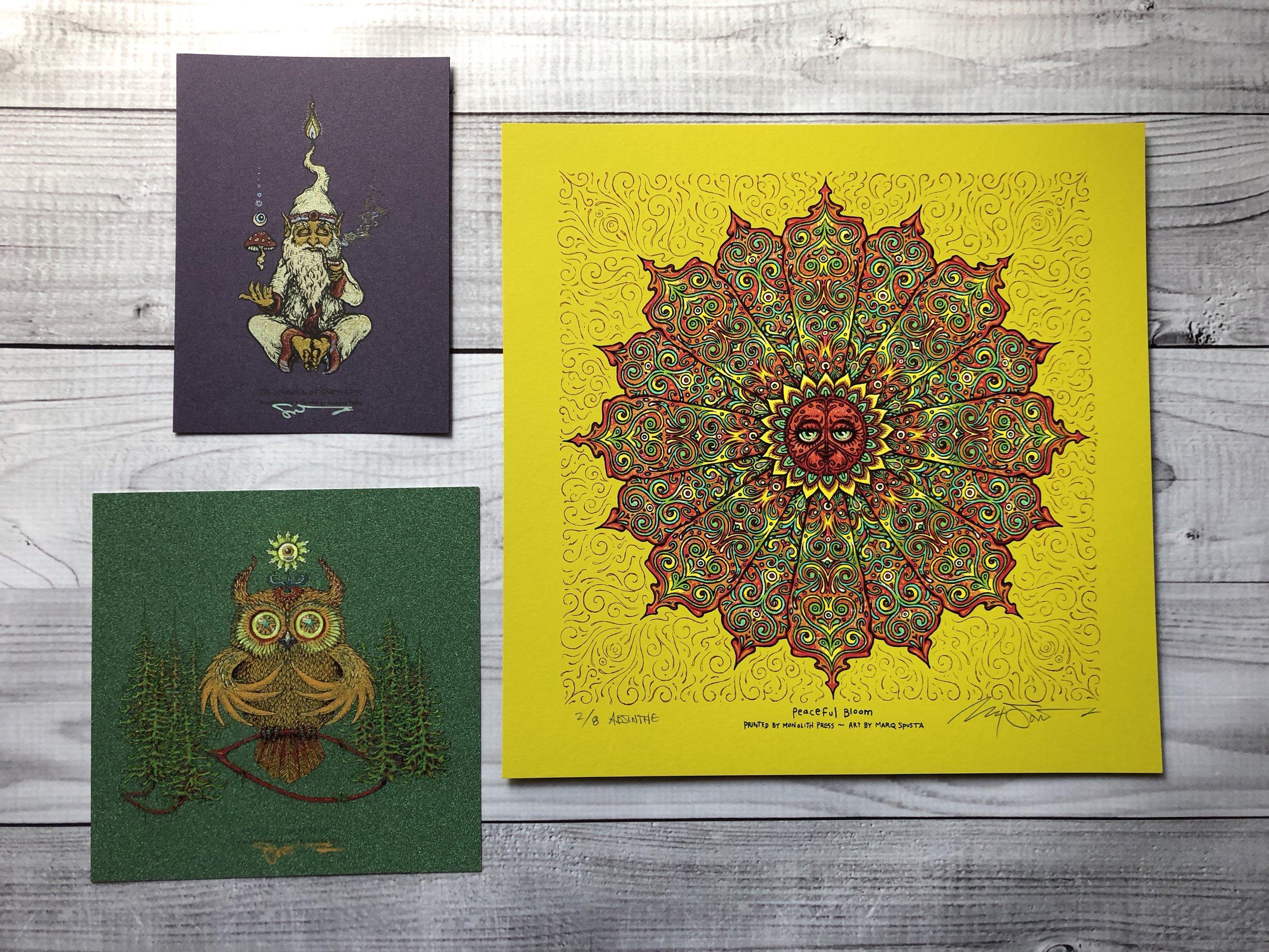 $420 Pack D - Absinthe Peaceful Bloom