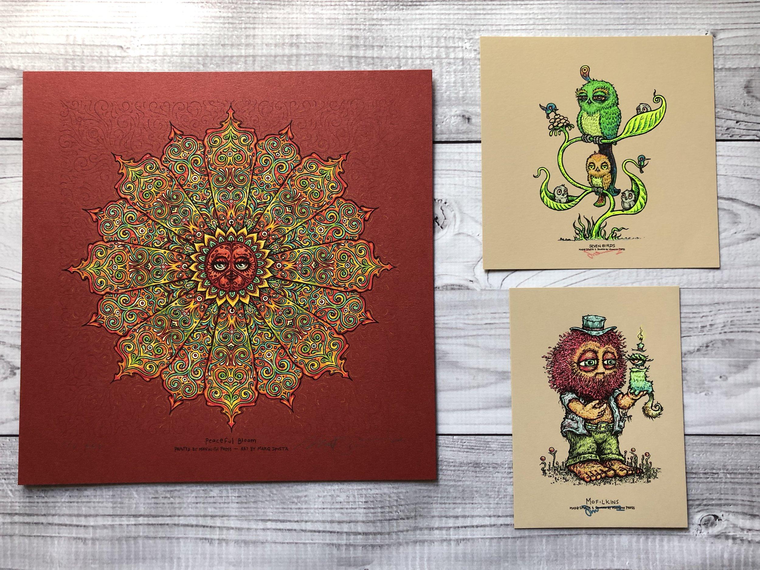$420 Pack B - Red Peaceful Bloom