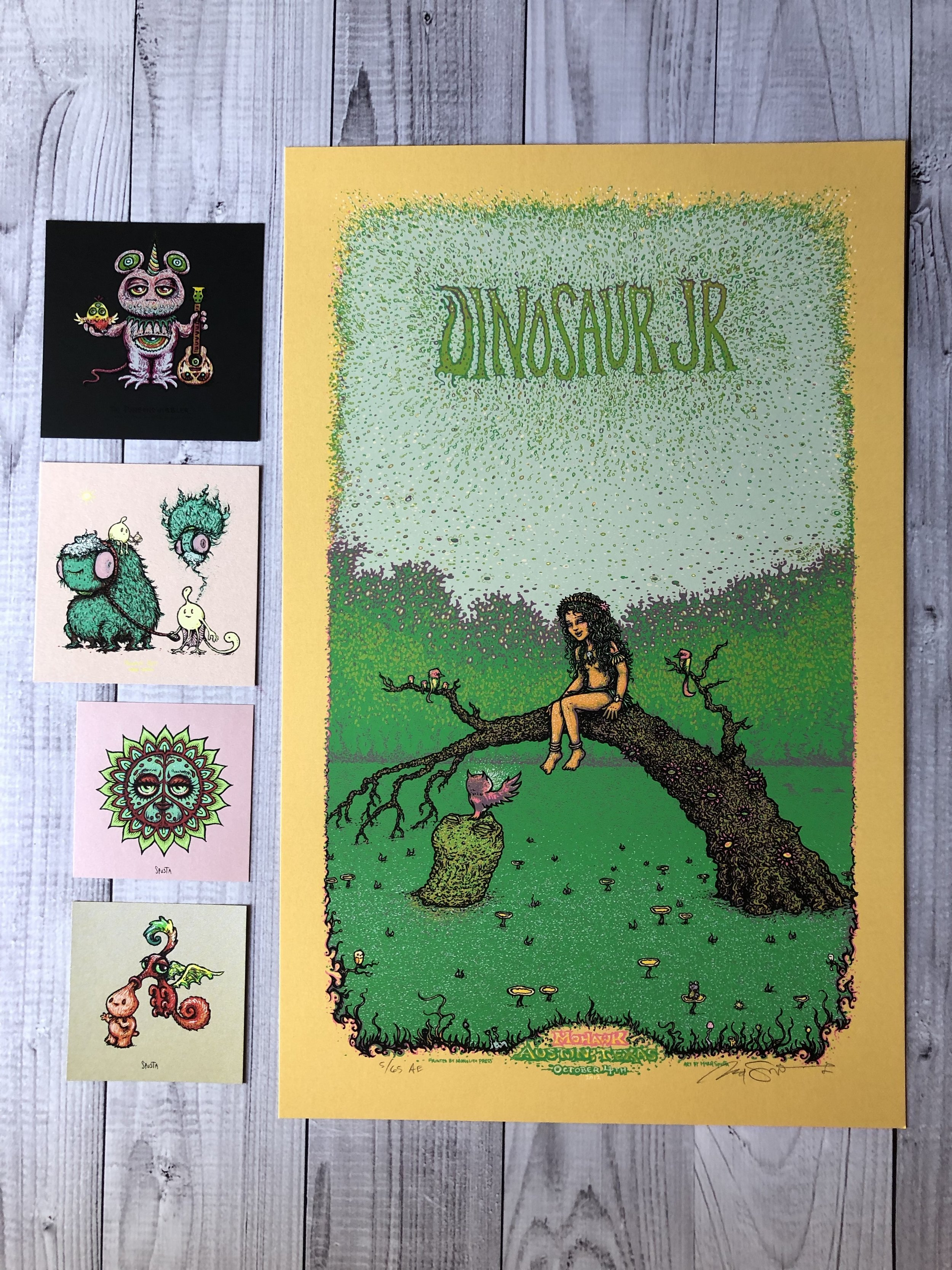 $100 Set B - Dinosaur Jr Artist Edition + Minis