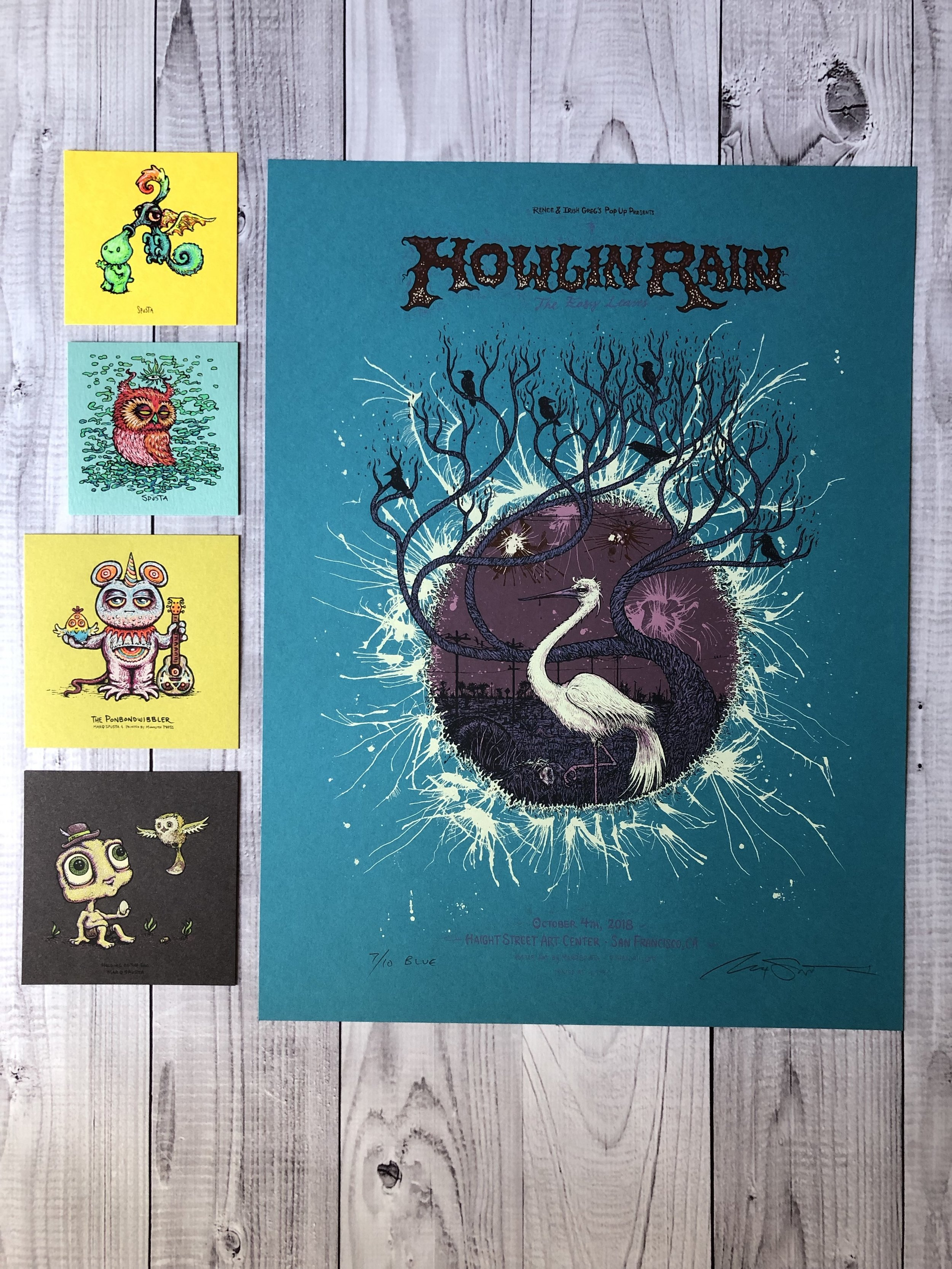 $135 Set G - Blue Howlin Rain + Minis