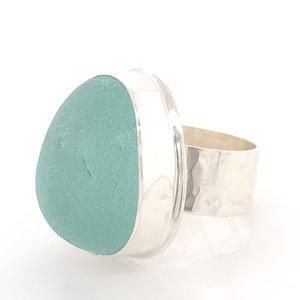 0df787a3e Sea Foam Dream English Sea Glass Ring