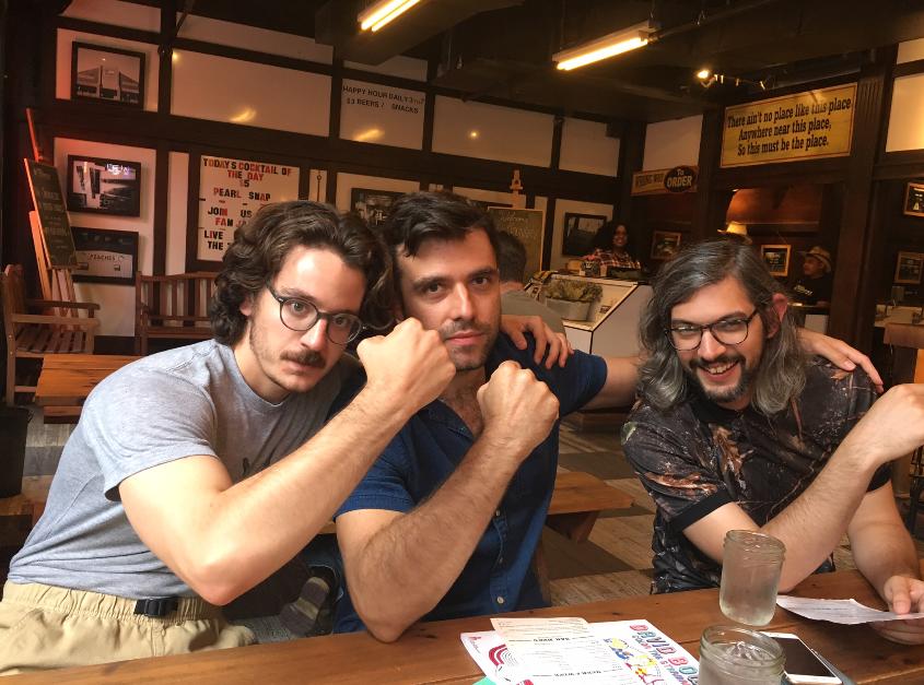 From Left: Joey, Kris Hartrum, Keegan Grandbois