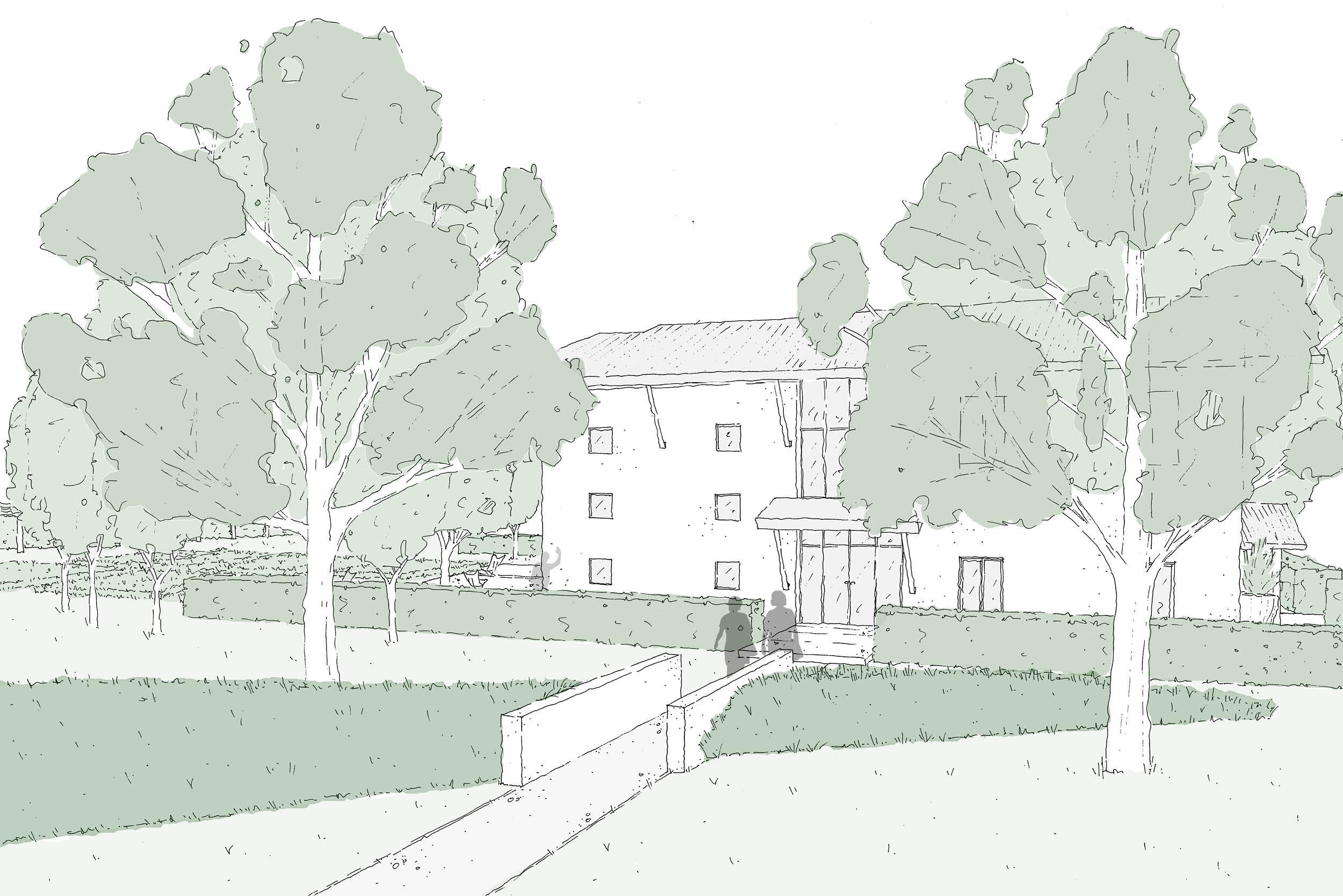 Grove Mill Landscape Architecture Design Perepective