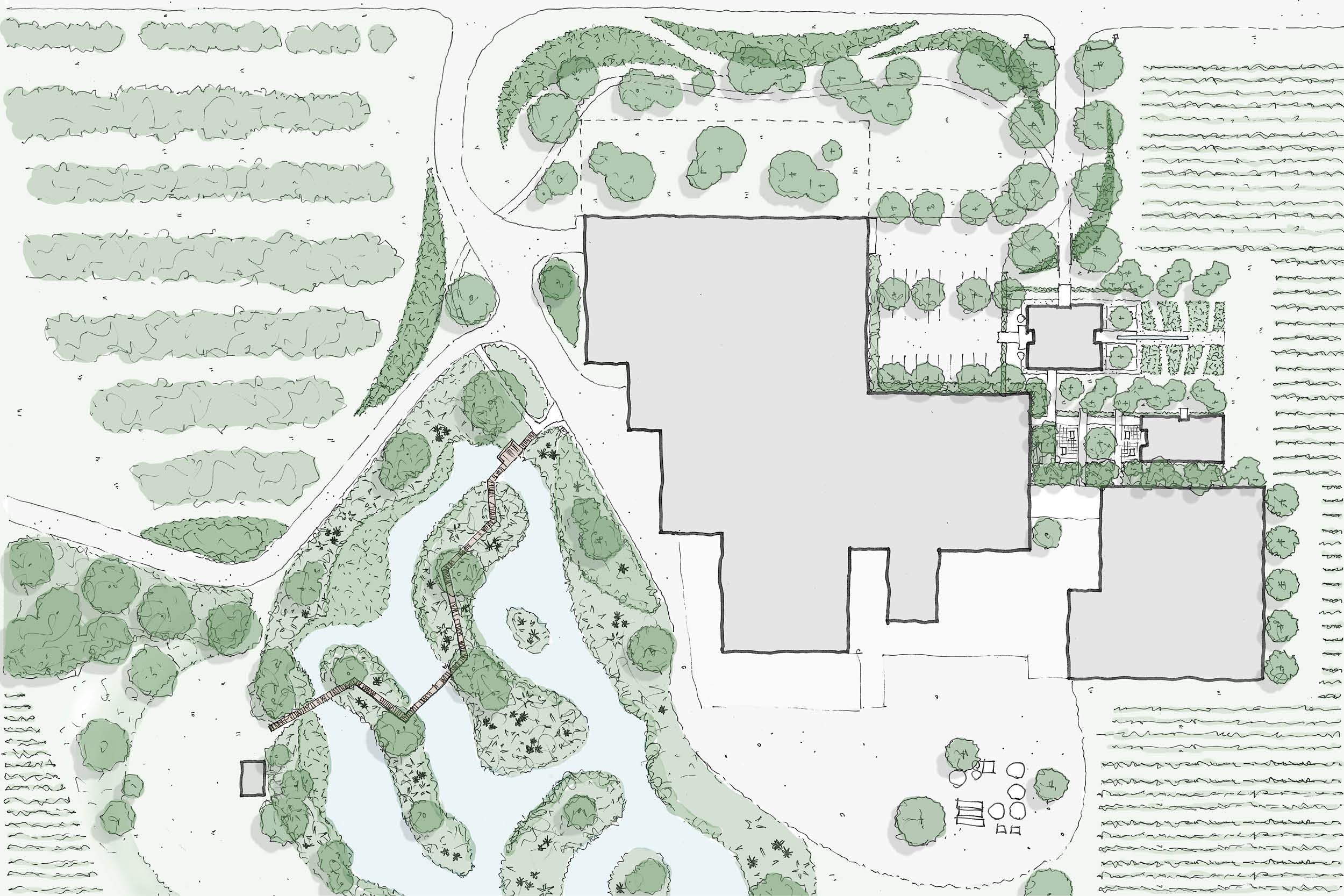 Grove Mill Landscape Architecture Design