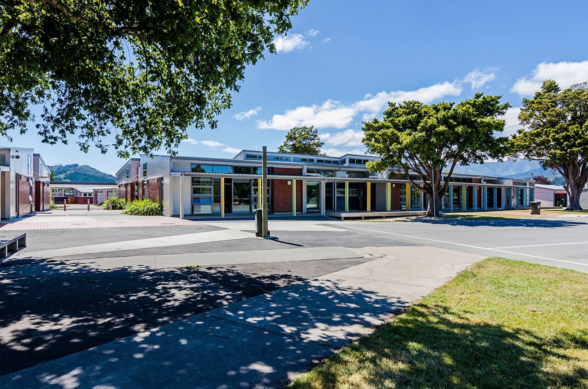 Fergusson Intermediate School Landscape