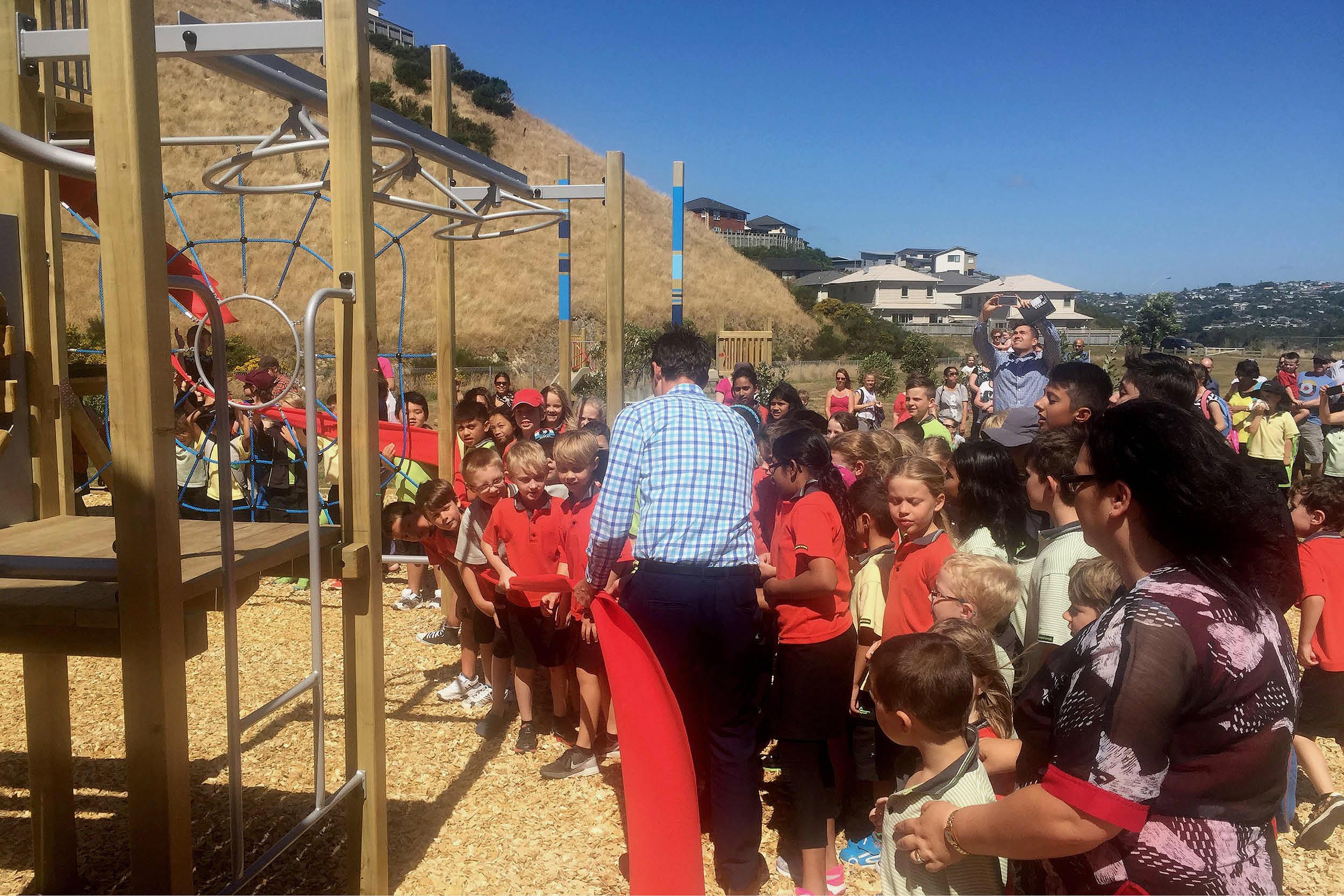 Amesbury School Playground Opening