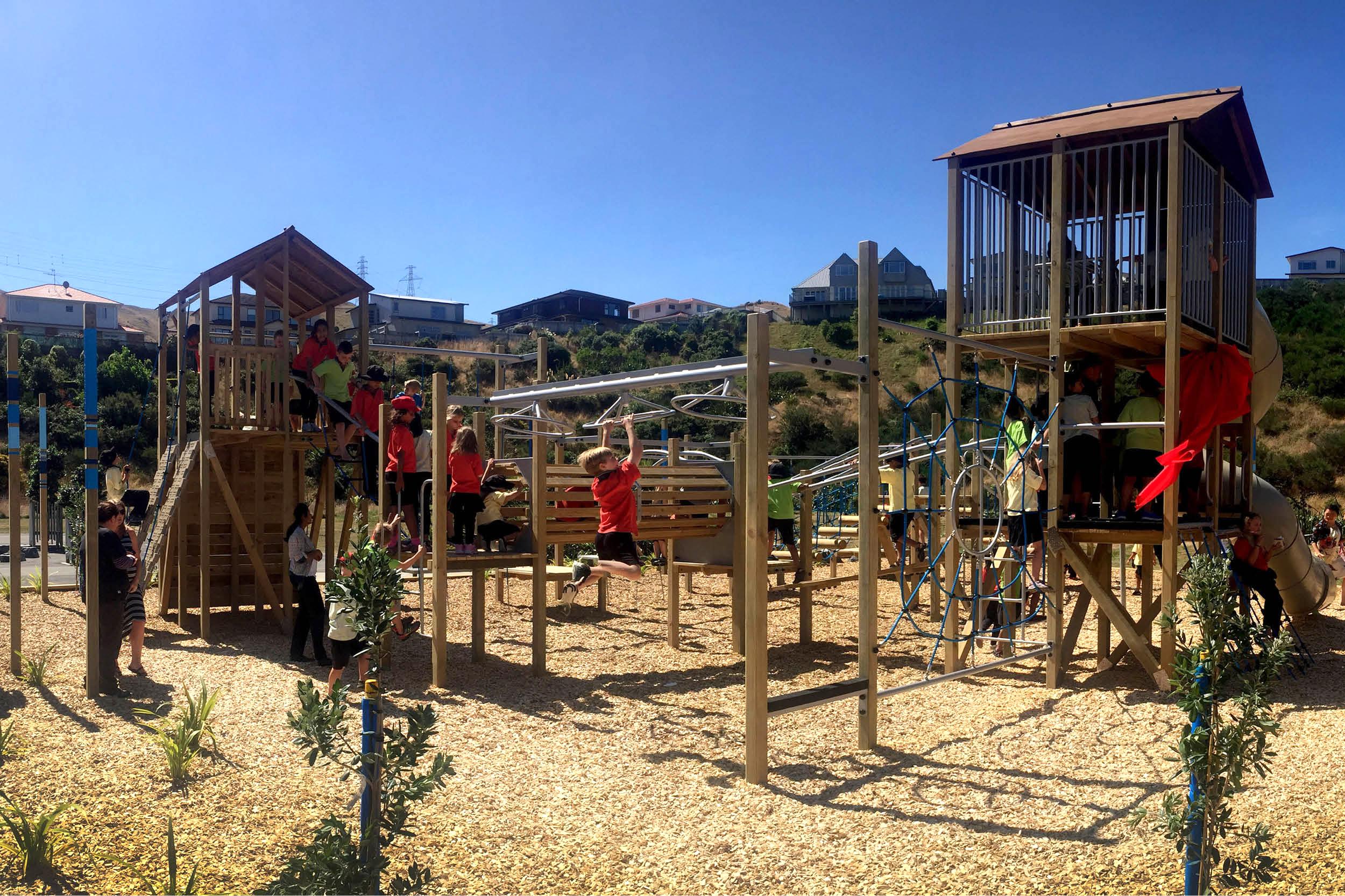 Amesbury School Playground Design