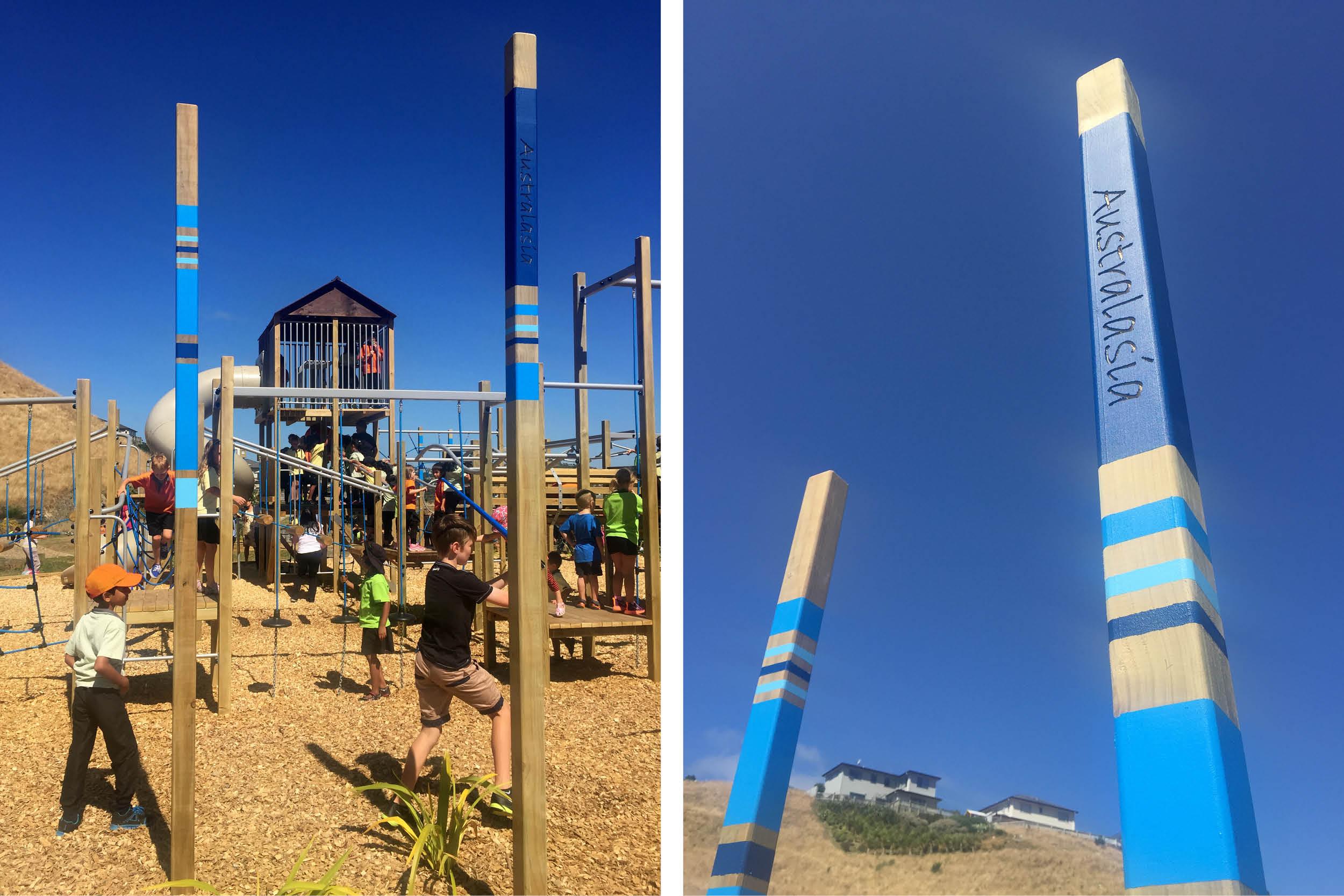 Amesbury School Playground Landscape