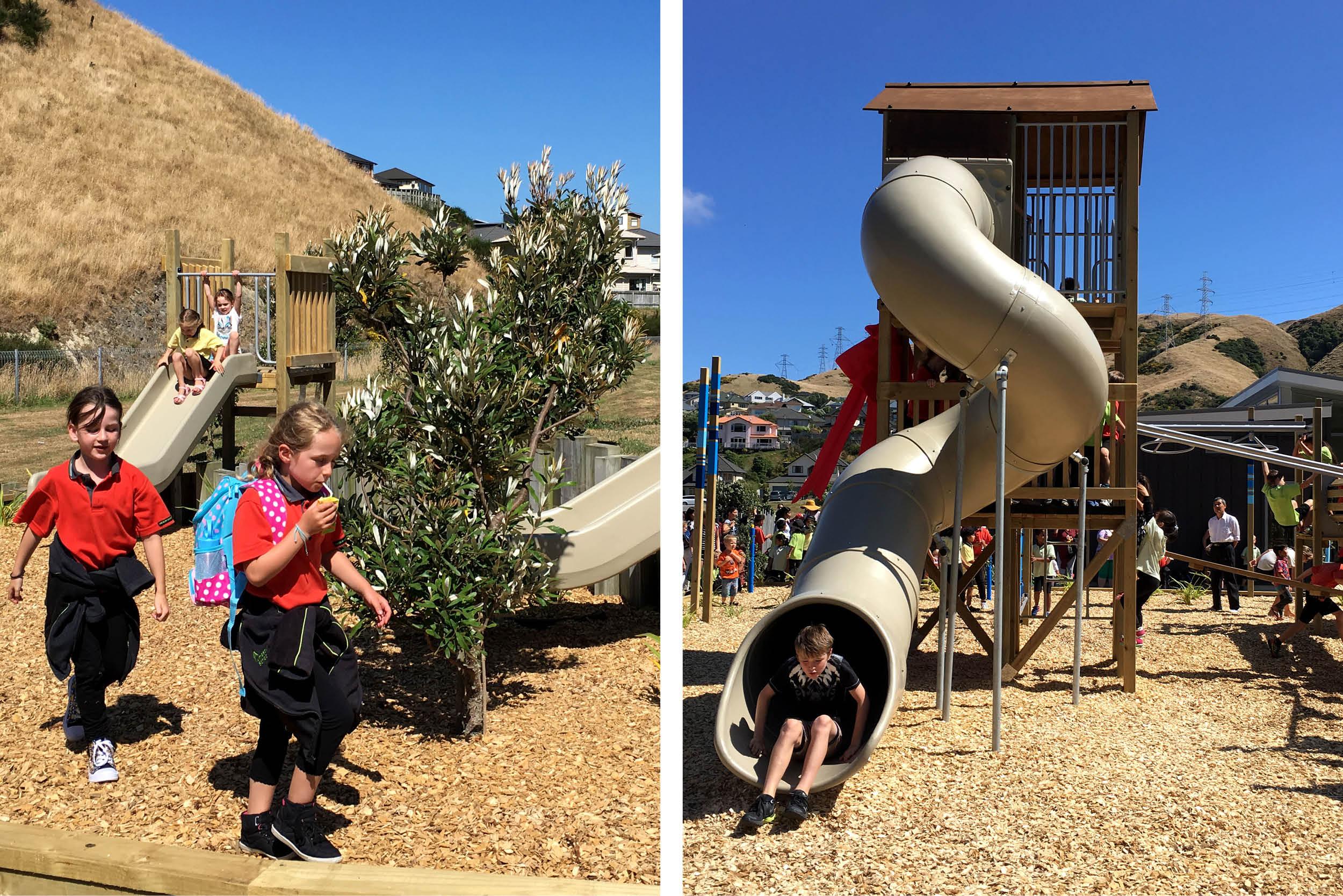 Amesbury School Playground Slide