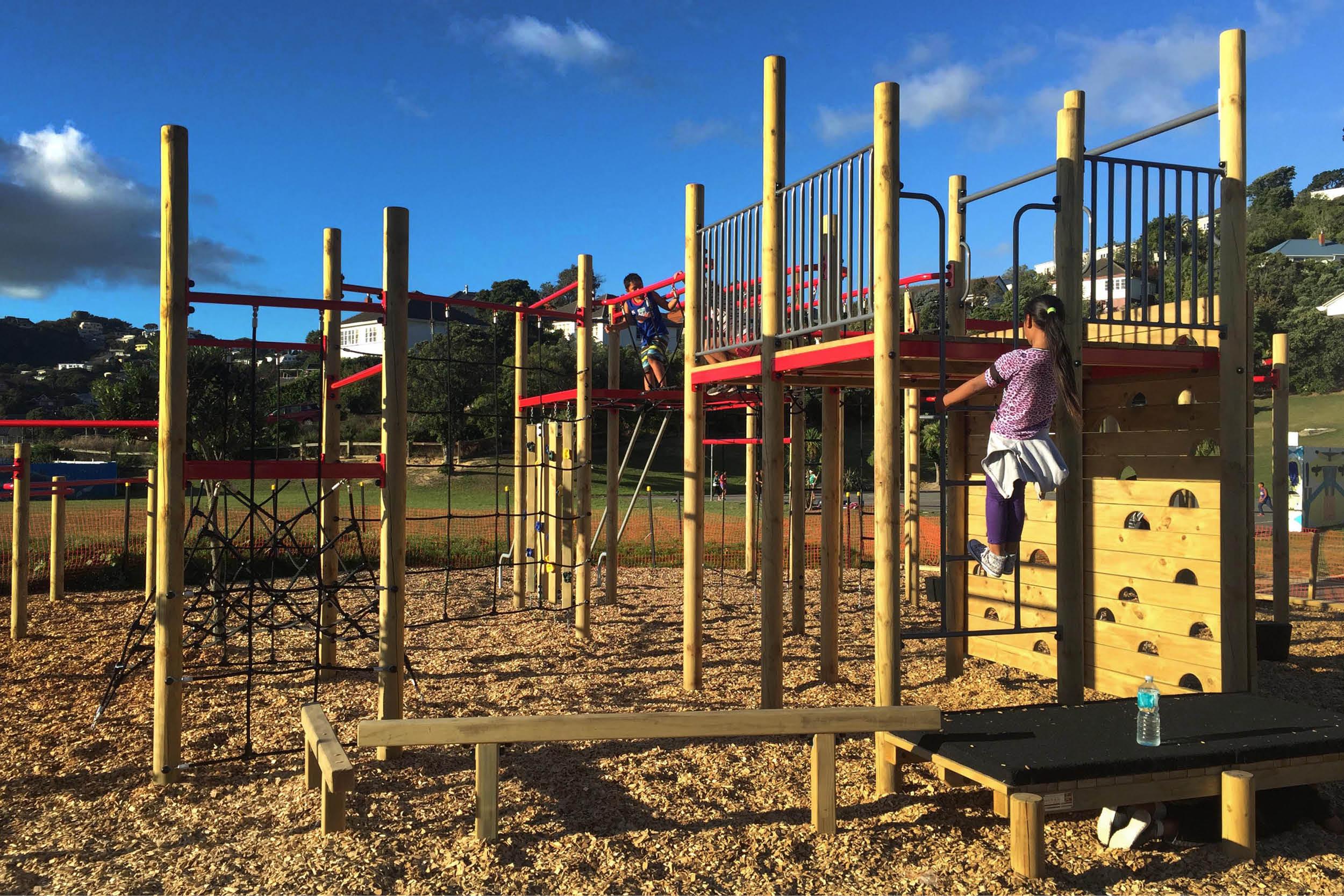 Kahurangi School Playground