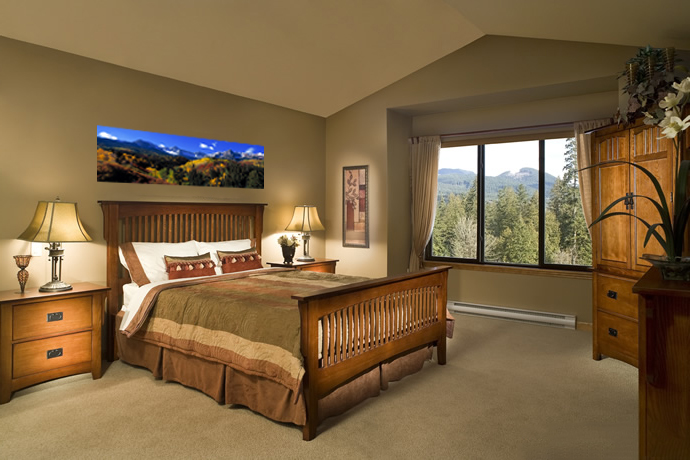 Mountain Home Master Suite