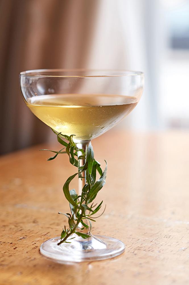 The Tarratan tarragon cocktail - from Bin 36