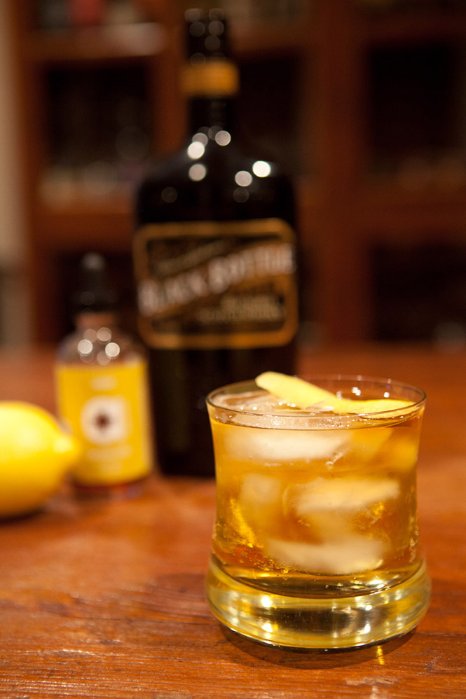 Curried scotch cocktail