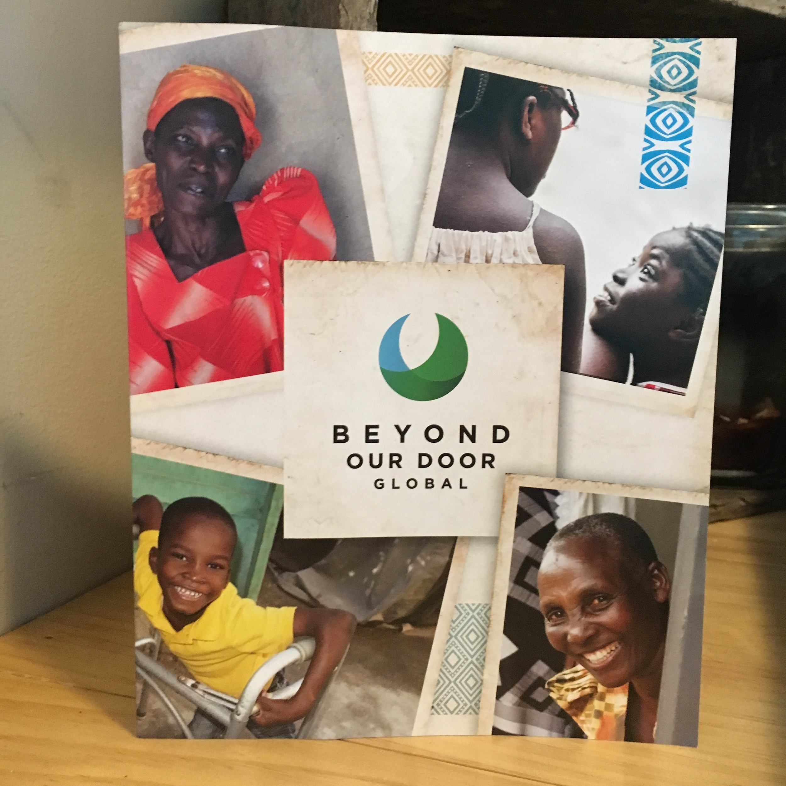 Beyond Our Door Nonprofit Brochure