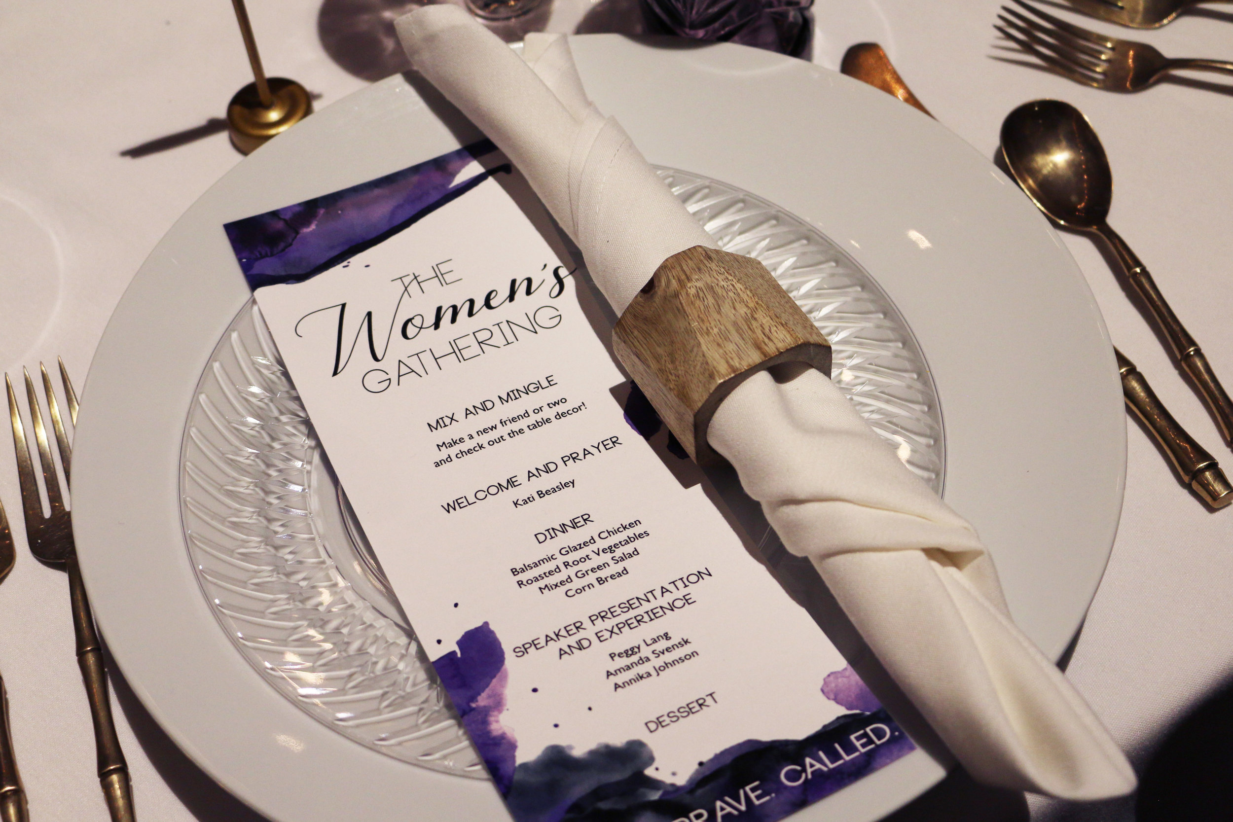 Event Suite Design - Invitation, Program, Connection Cards, Table Numbers, Social Media Posts  Event Photography