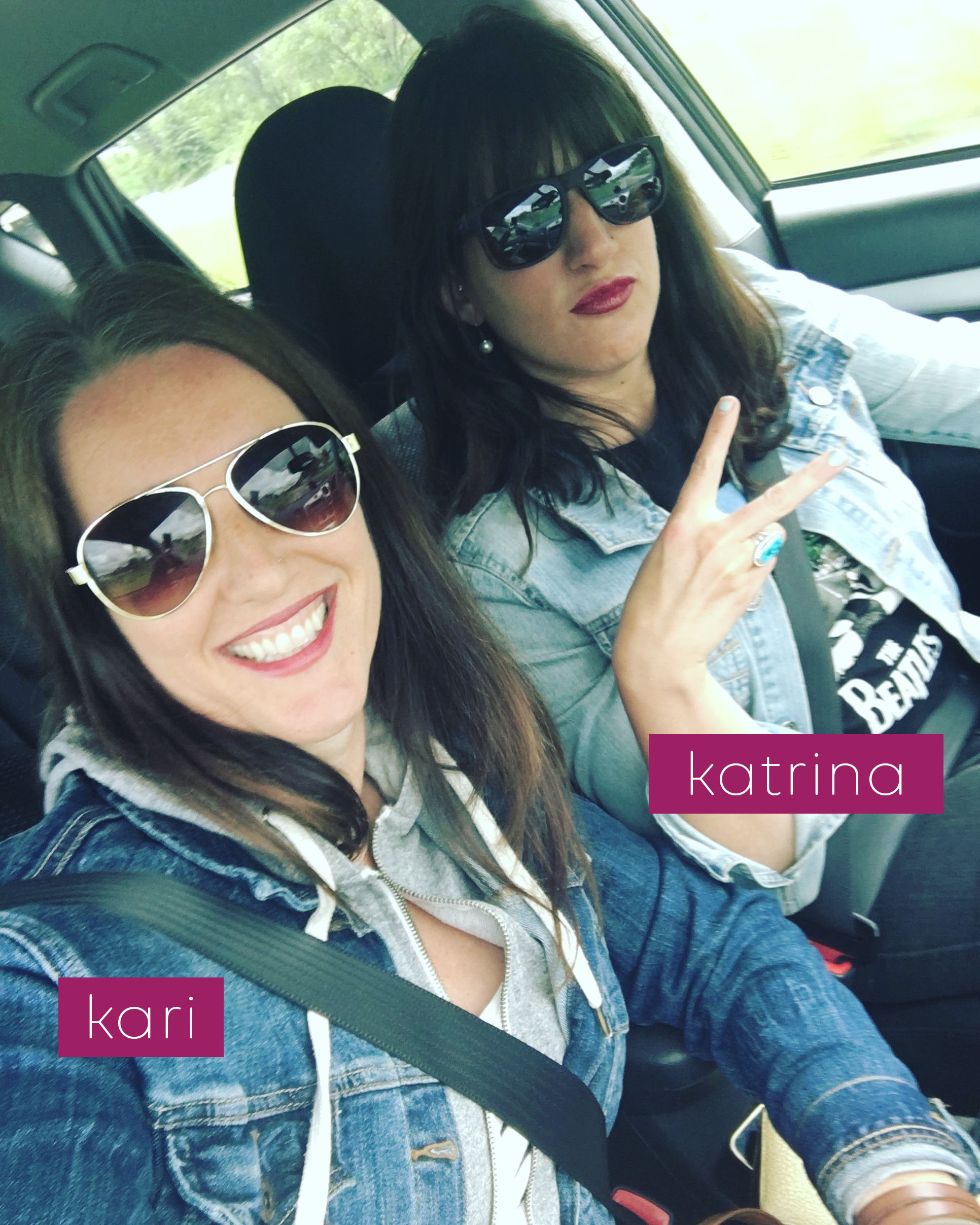 We are Kari & Katrina. We get to spend our days running this amazing little business we call Tandem Creative.