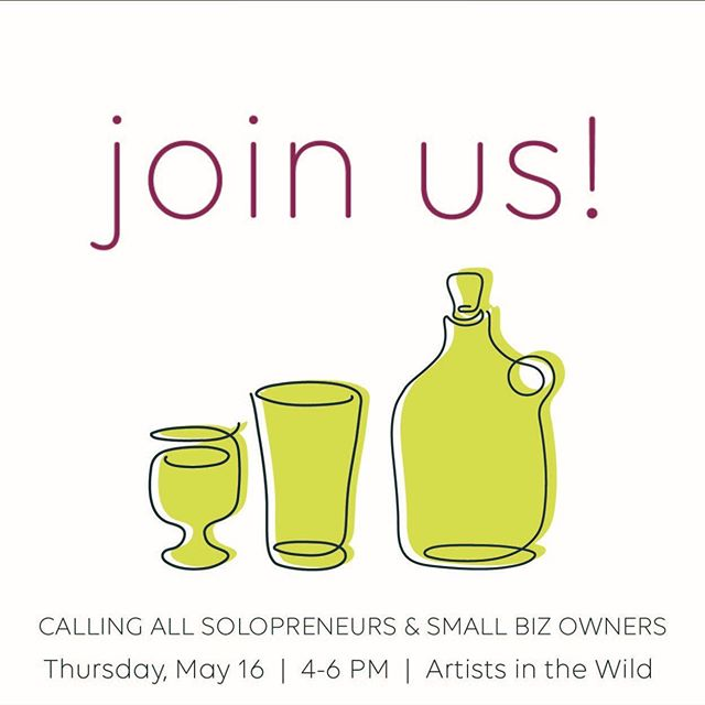 Are you a creative solopreneur or small business owner? Do you consider yourself an adventurous person? Are you looking for people to help you navigate the world of small business ownership? If so, you should check out @artistsinthewild!  Artists in the Wild is a creative networking community dedicated to carving a space for solopreneurs and small business owners to connect and share in the joys and struggles of running a business. May 16 from 4-6 pm we'll be hanging at @wickedwortbrewingcompany. Come join us!  Snag your FREE ticket on the Artists in the Wild FB page!
