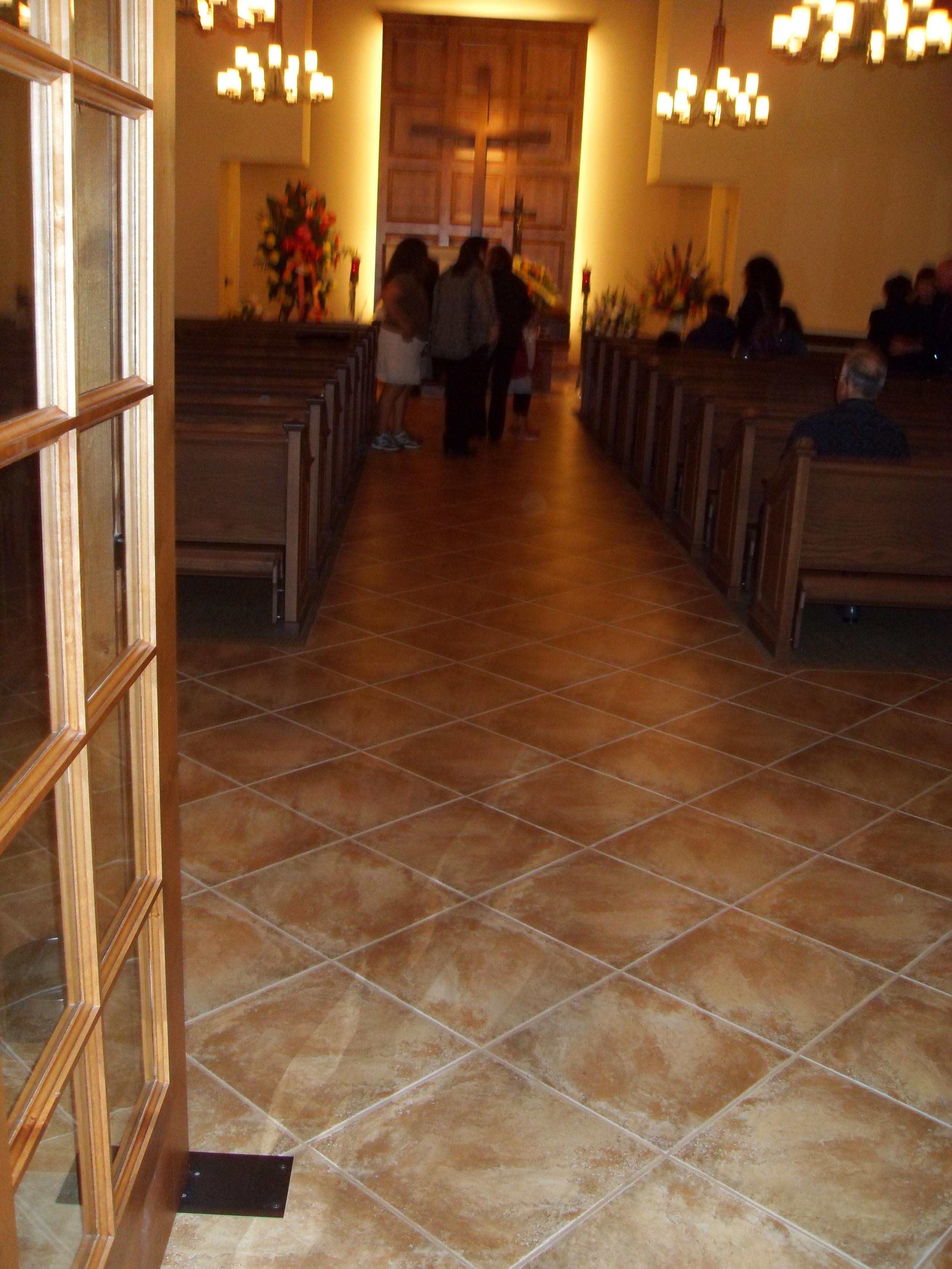 FinishedChapel Hallway.JPG